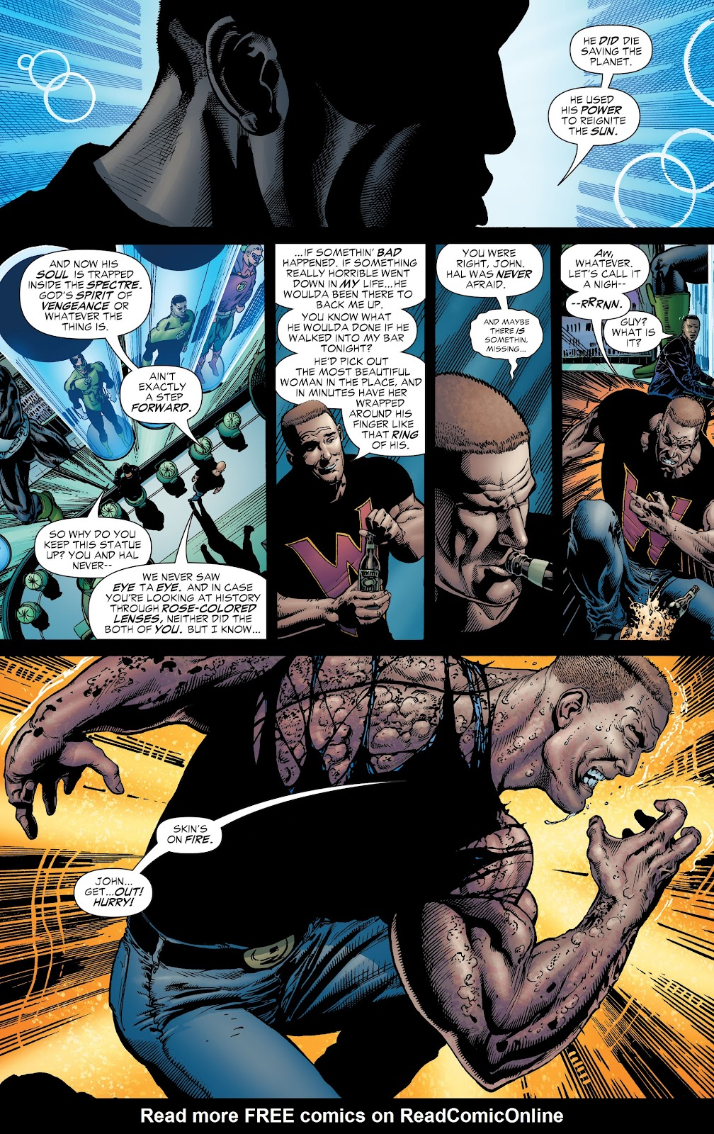 Read online Green Lantern by Geoff Johns comic -  Issue # TPB 1 (Part 1) - 30
