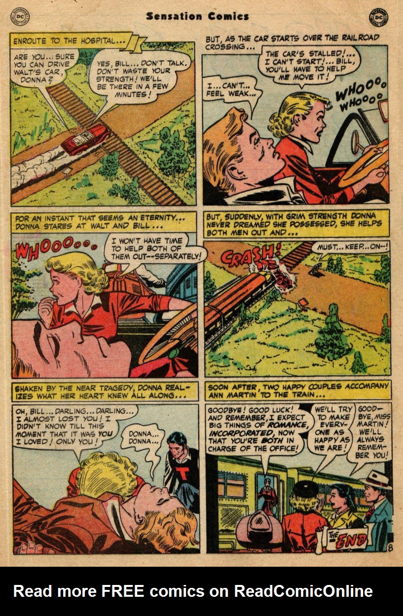 Read online Sensation (Mystery) Comics comic -  Issue #100 - 49