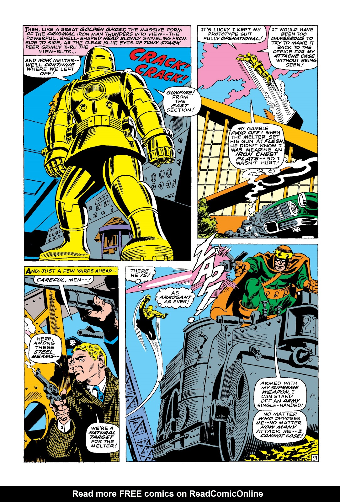 Read online Marvel Masterworks: The Invincible Iron Man comic -  Issue # TPB 4 (Part 1) - 93