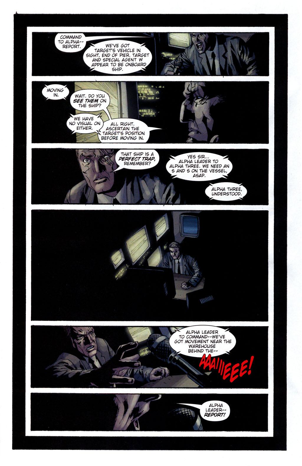 Read online Sleeper: Season Two comic -  Issue #5 - 16