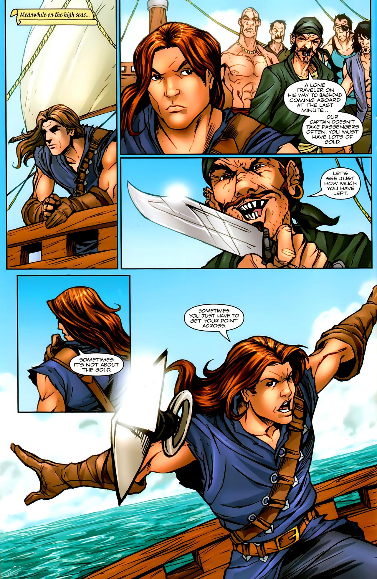 Read online 1001 Arabian Nights: The Adventures of Sinbad comic -  Issue #9 - 10