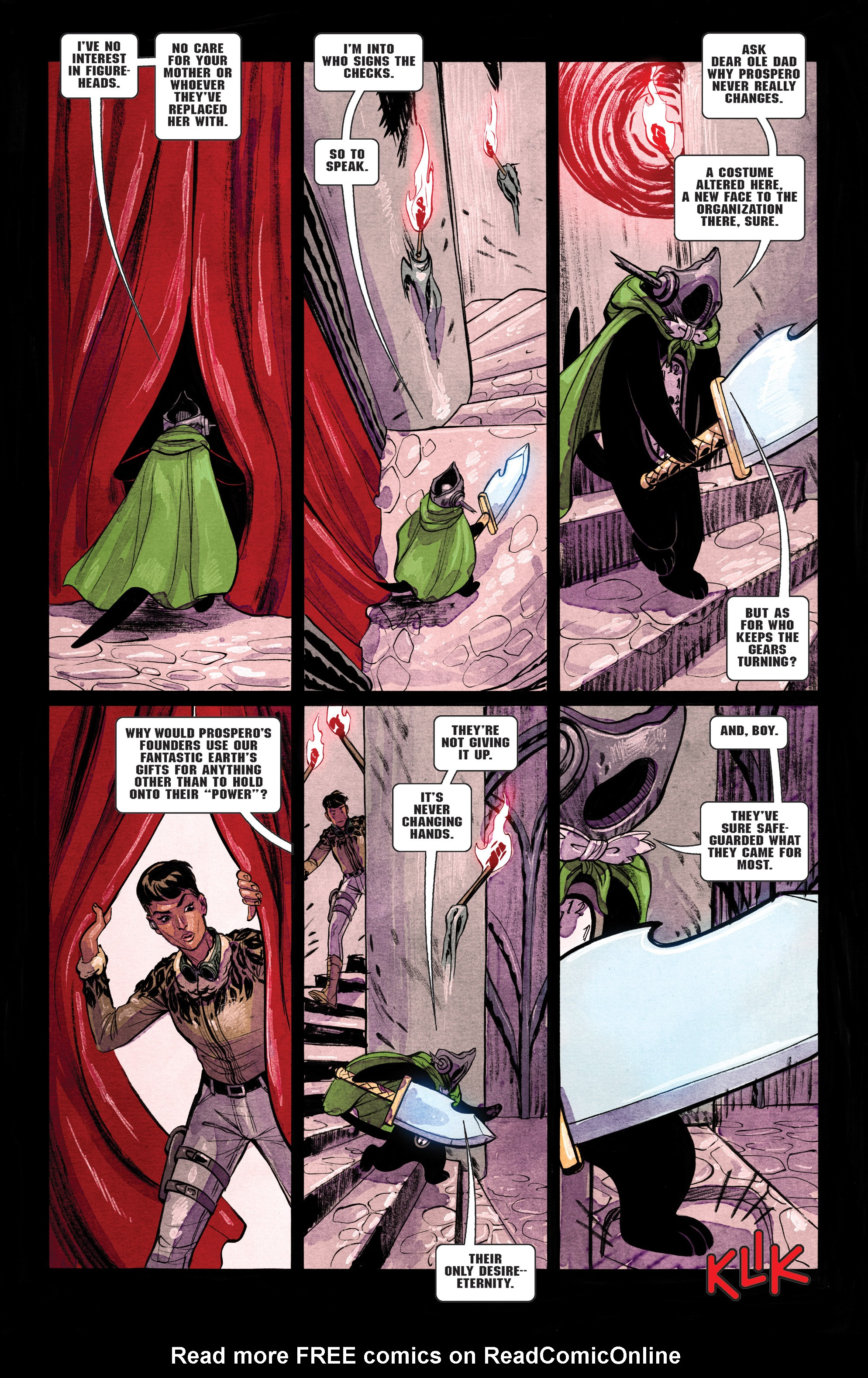 Read online Shutter comic -  Issue #26 - 18