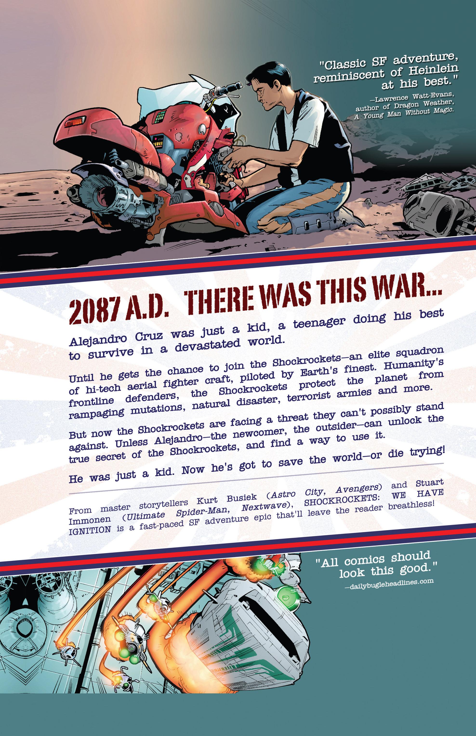 Read online Shockrockets comic -  Issue # TPB - 156
