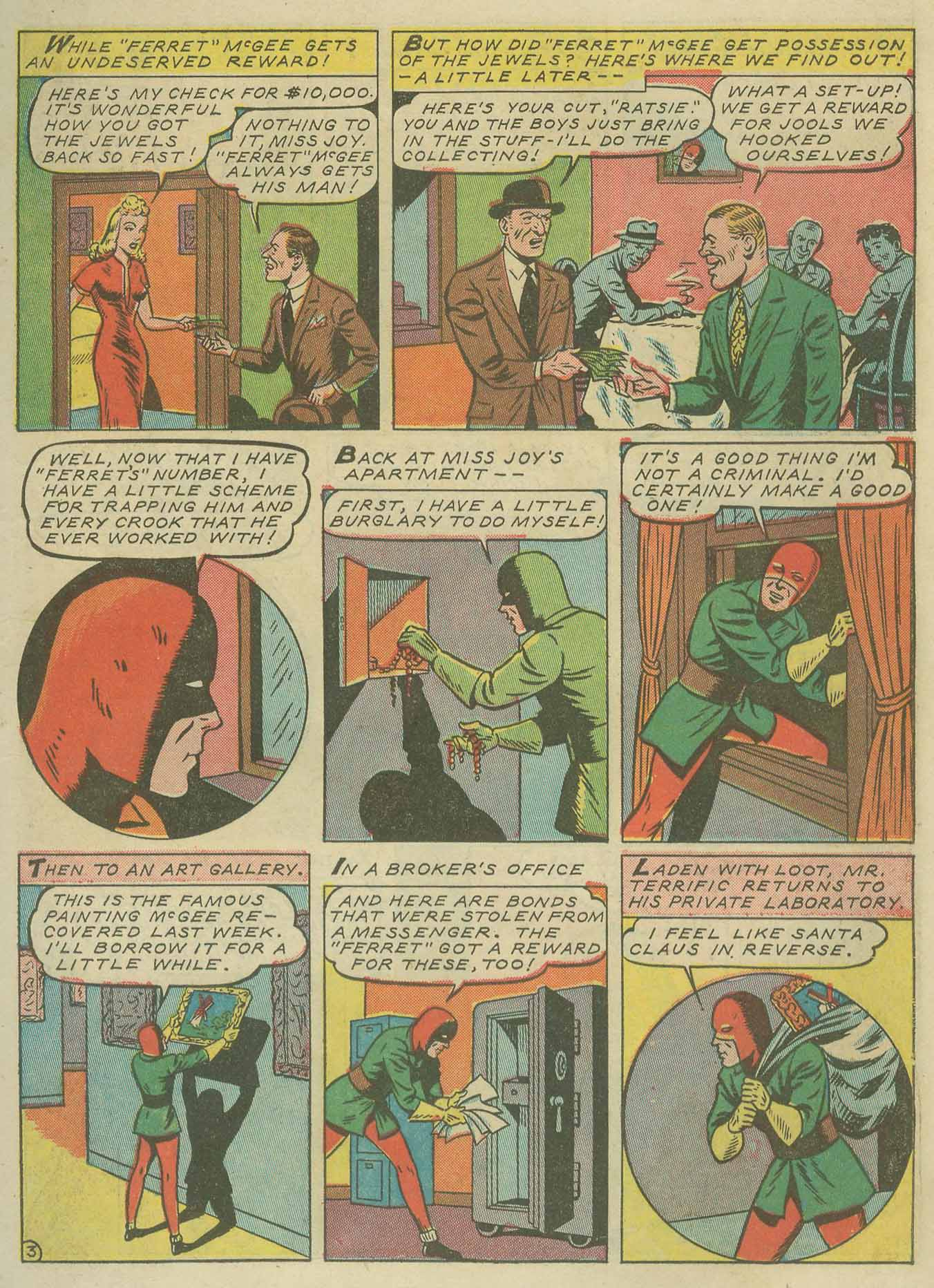 Read online Sensation (Mystery) Comics comic -  Issue #9 - 27