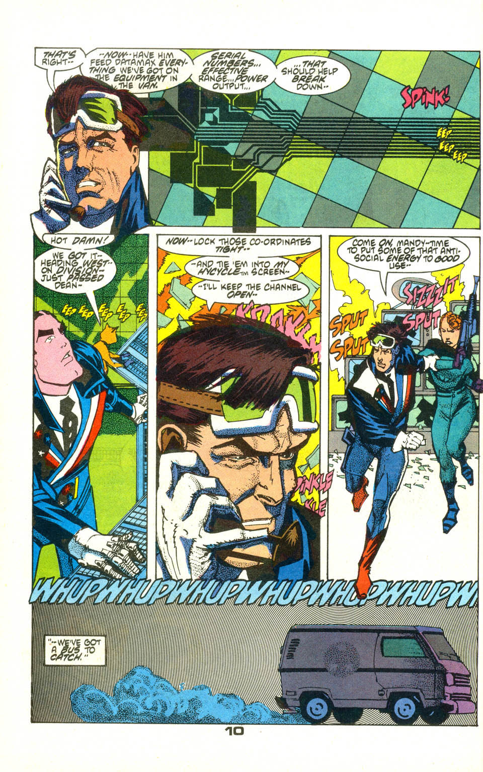 Read online American Flagg! comic -  Issue #22 - 12