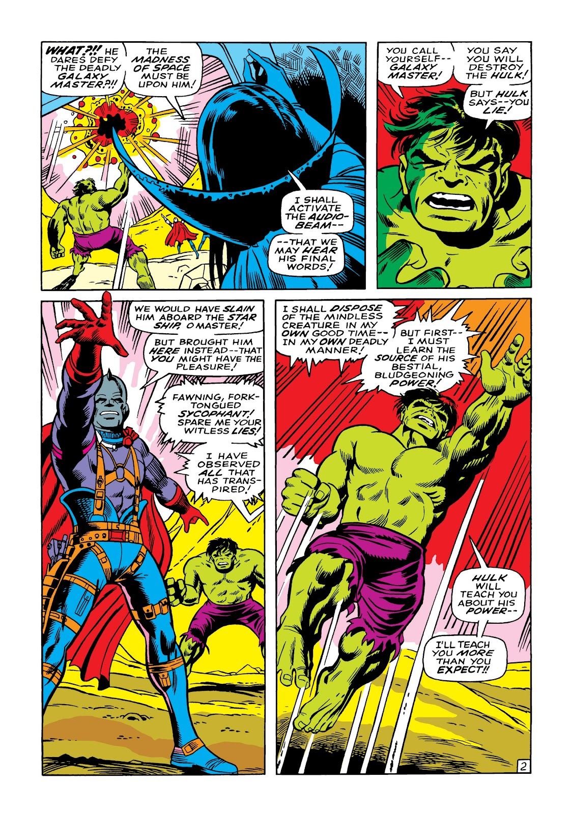 Read online Marvel Masterworks: The Incredible Hulk comic -  Issue # TPB 5 (Part 1) - 29