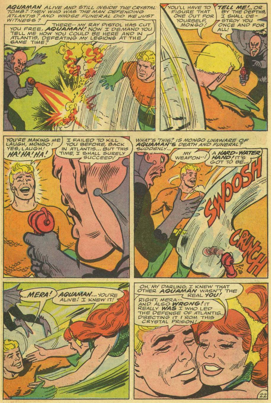 Read online Aquaman (1962) comic -  Issue #30 - 31