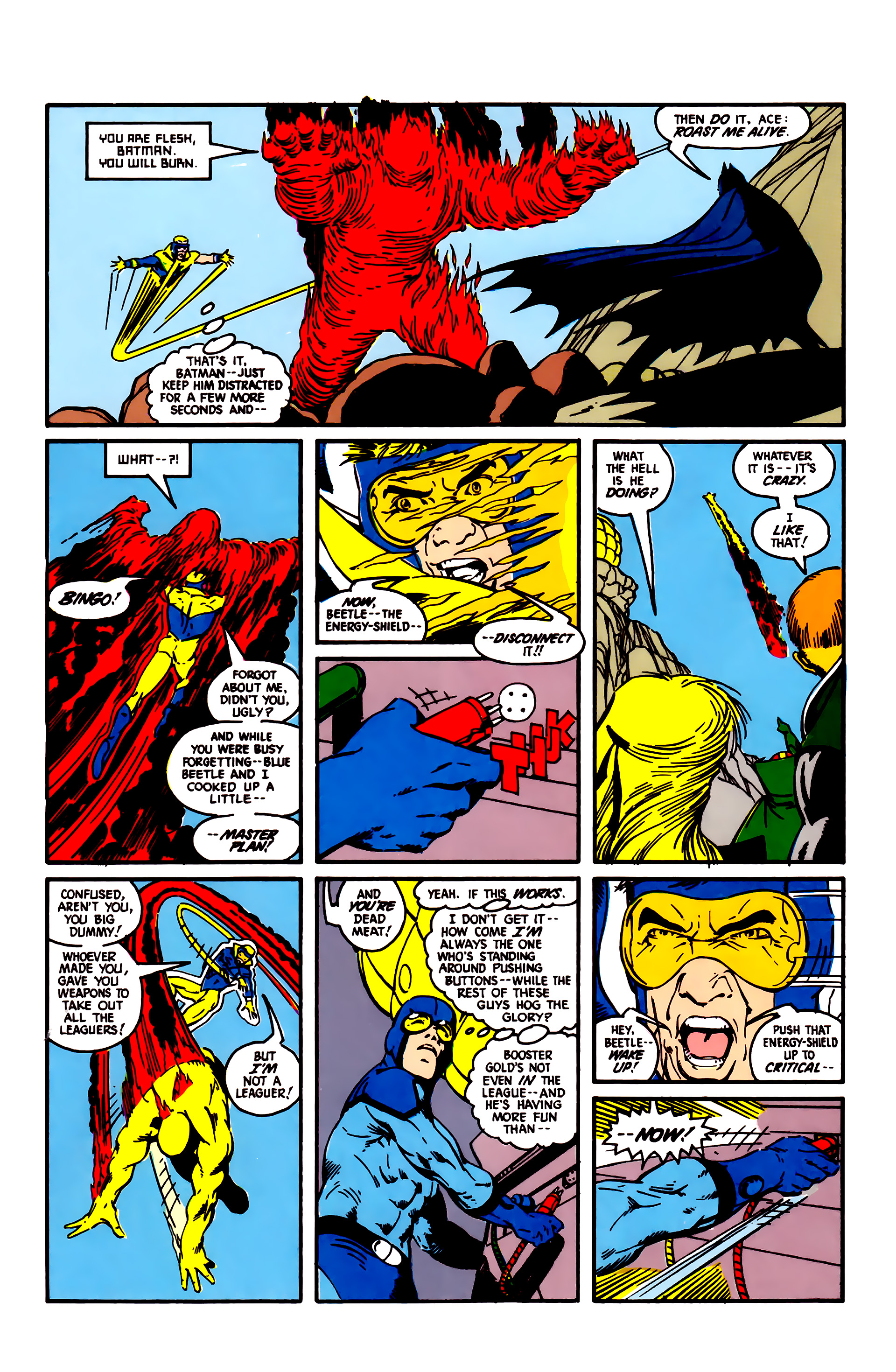 Read online Justice League (1987) comic -  Issue #4 - 21