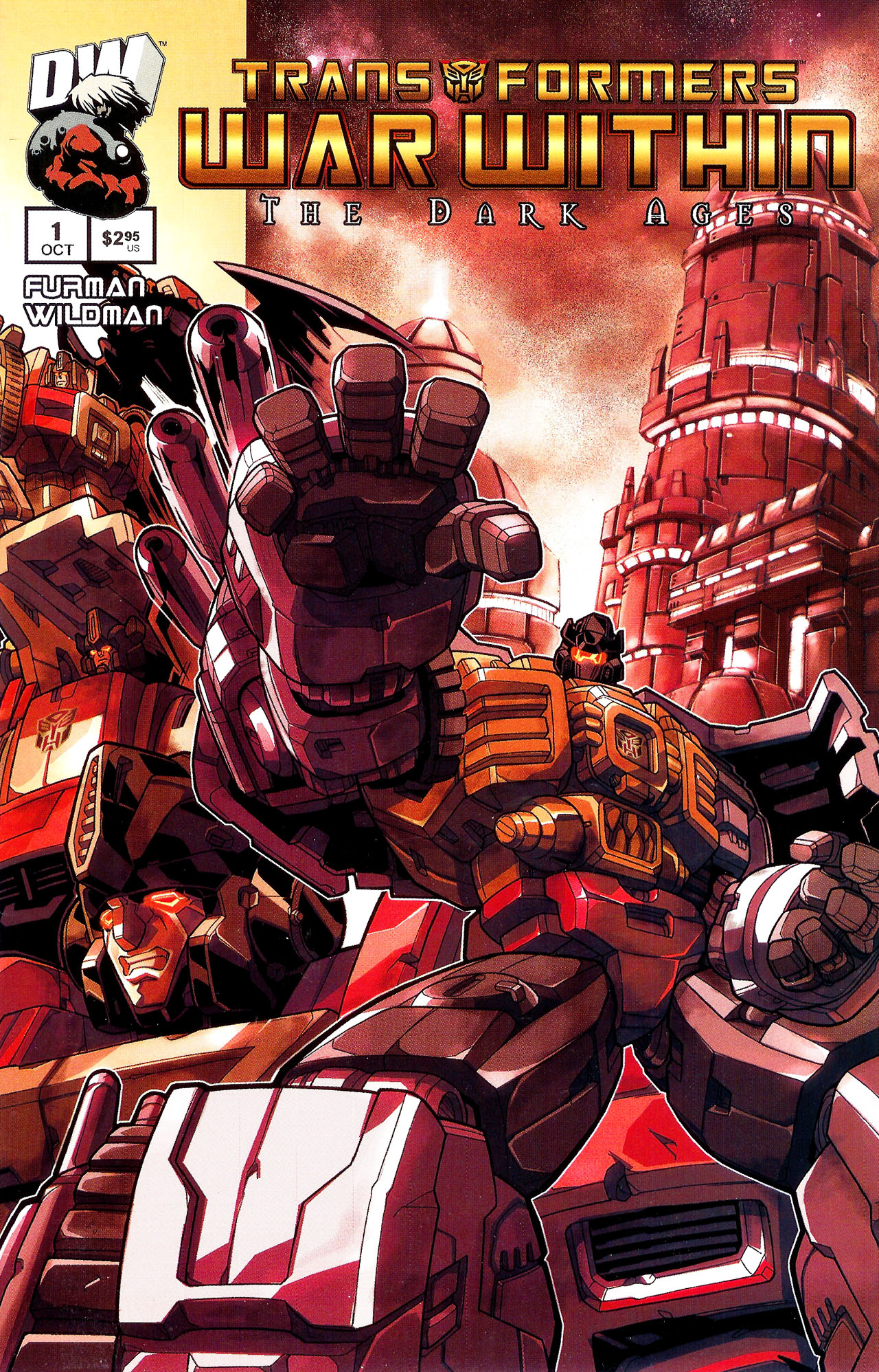 "Read online Transformers War Within: ""The Dark Ages"" comic -  Issue #1 - 3"