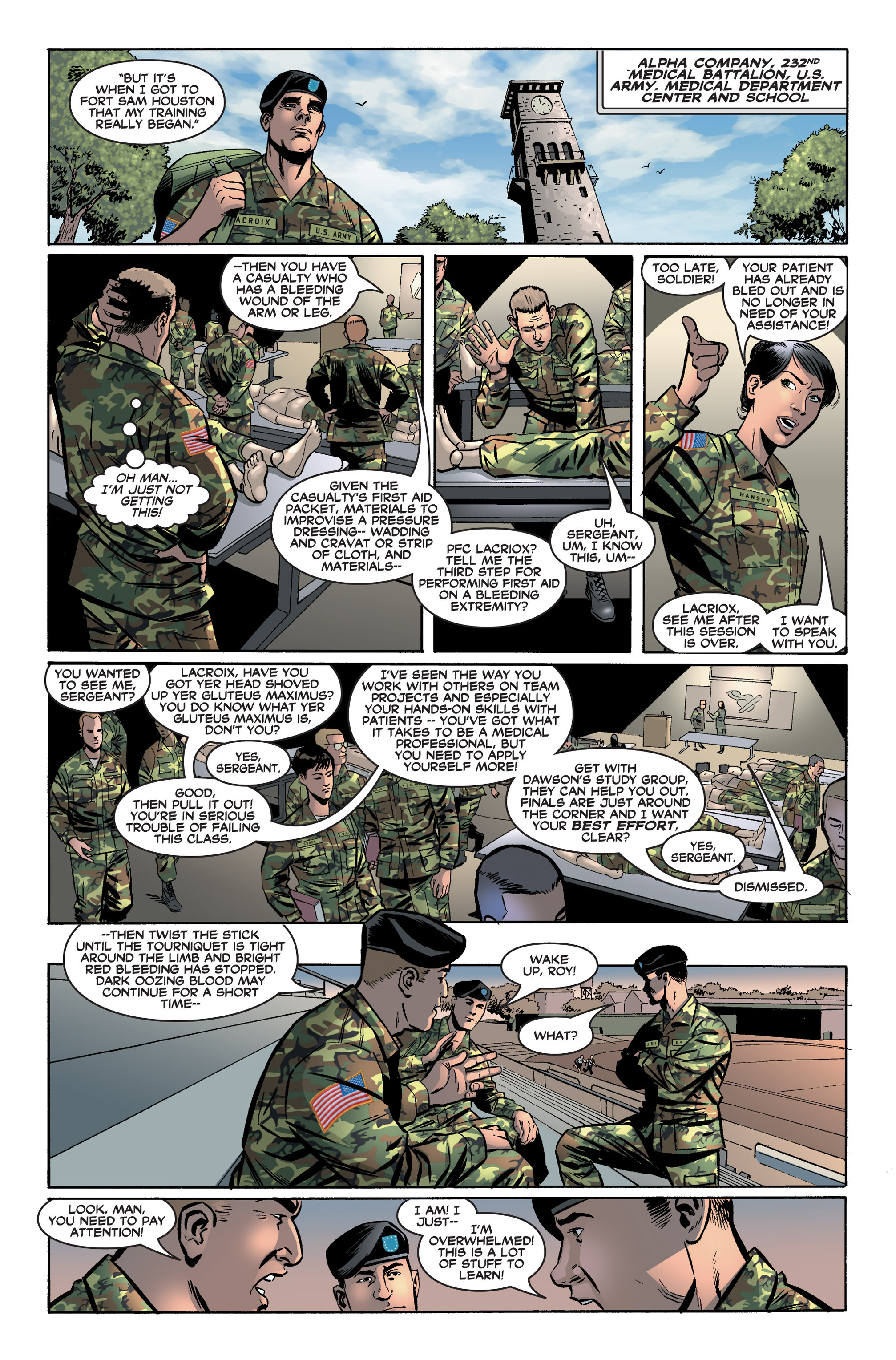 Read online America's Army comic -  Issue #2 - 13
