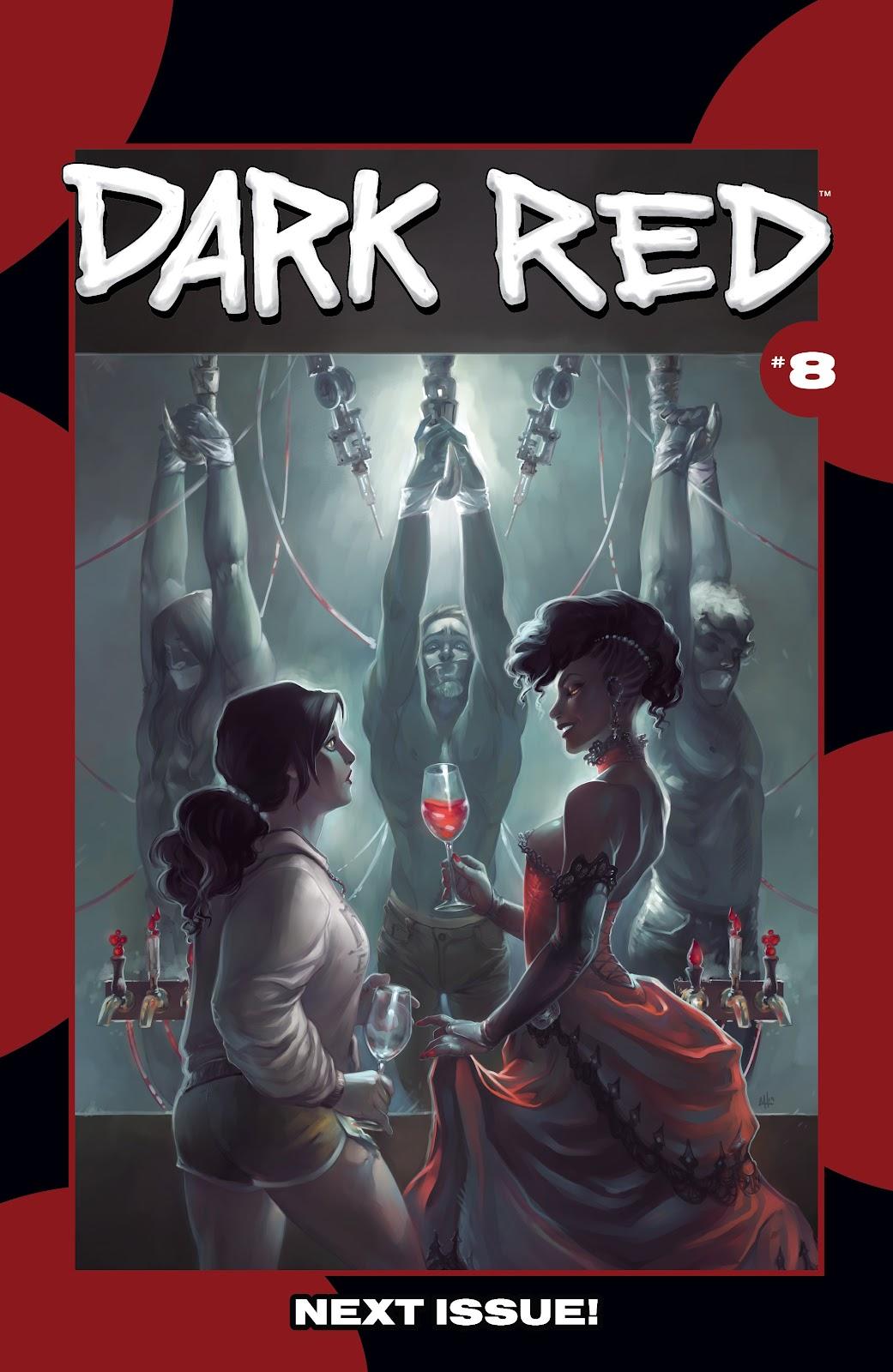 Read online Dark Red comic -  Issue #7 - 23