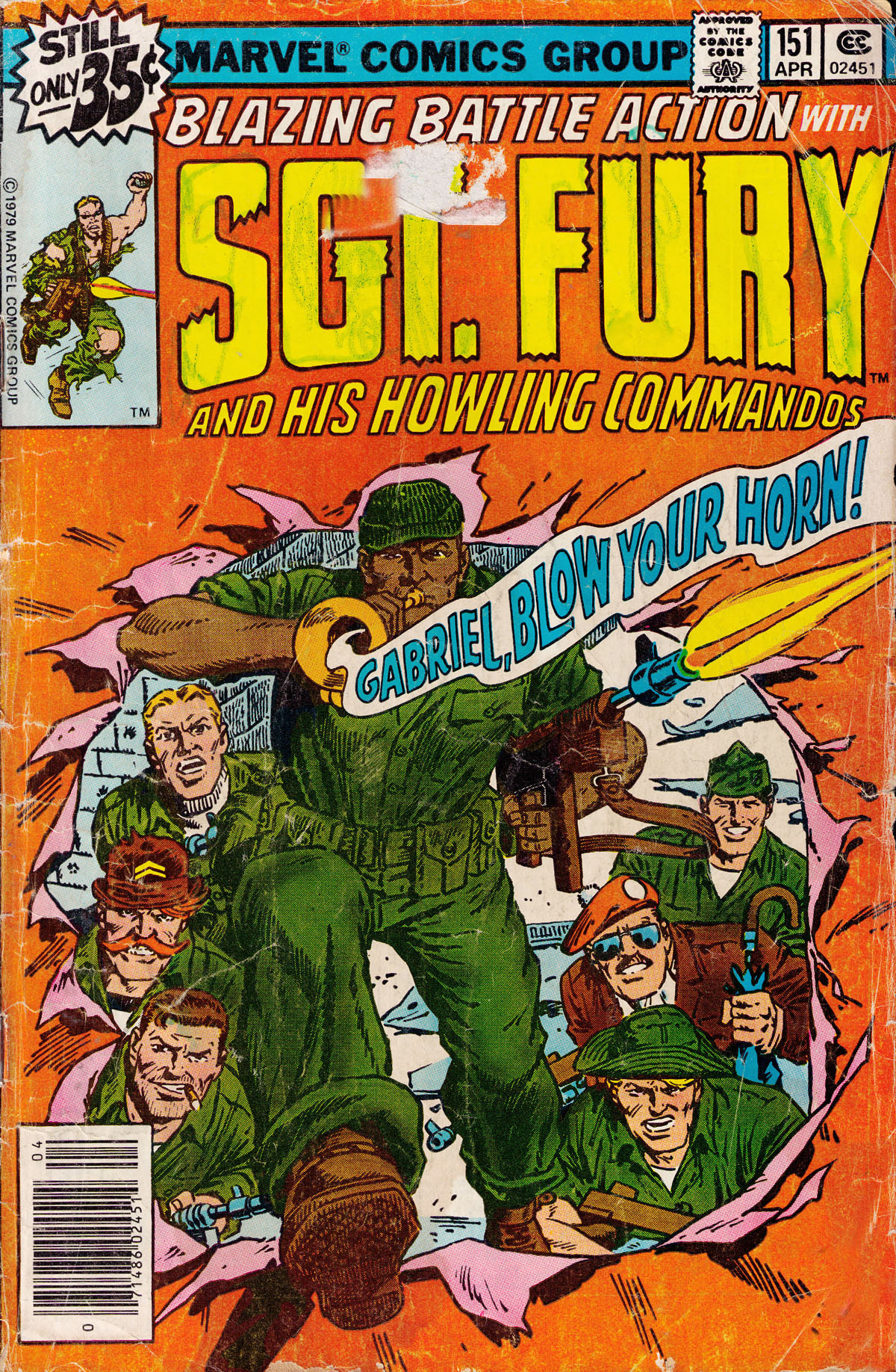 Read online Sgt. Fury comic -  Issue #151 - 1