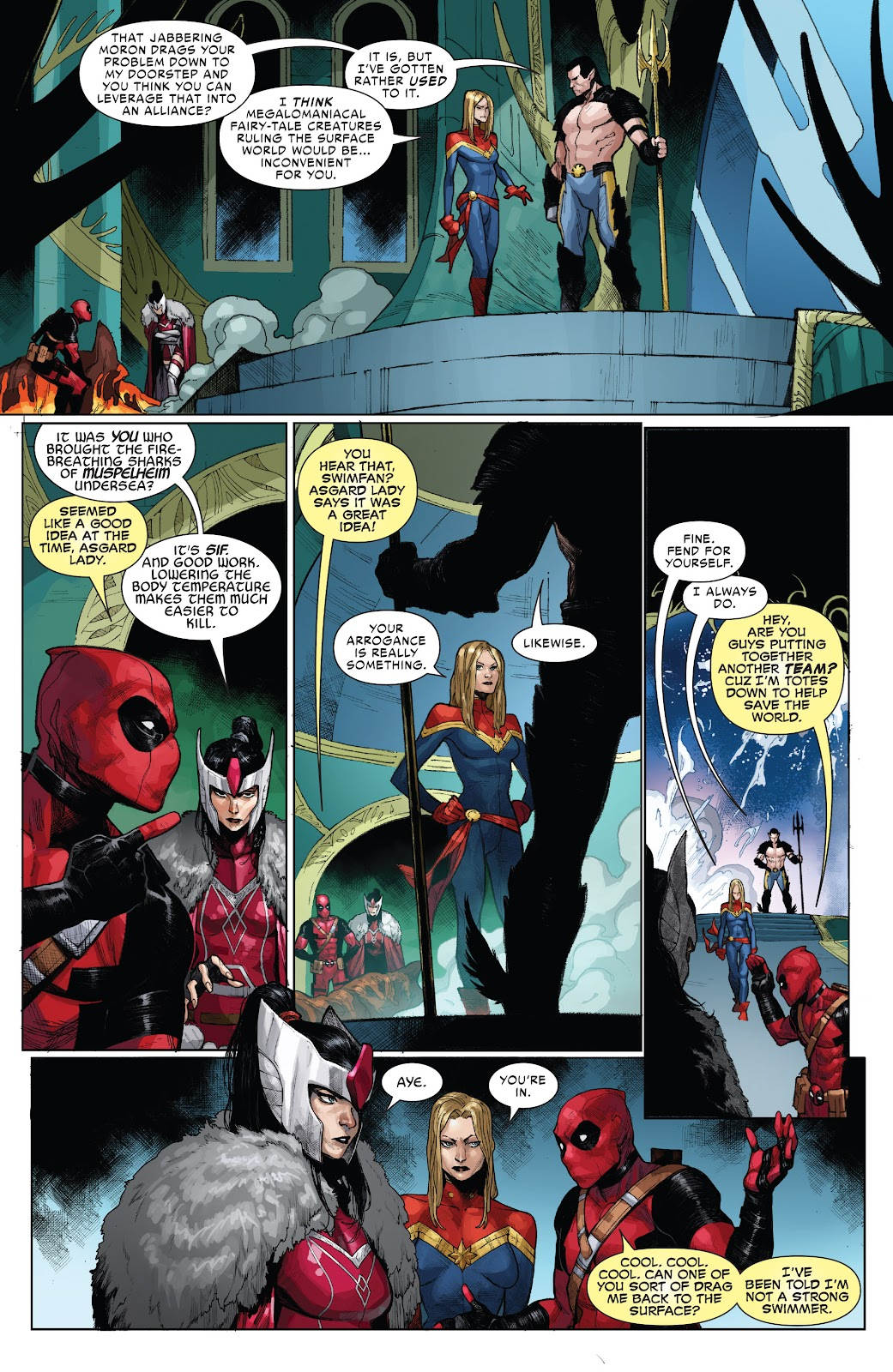 Read online War of the Realms Strikeforce: The War Avengers comic -  Issue # Full - 9