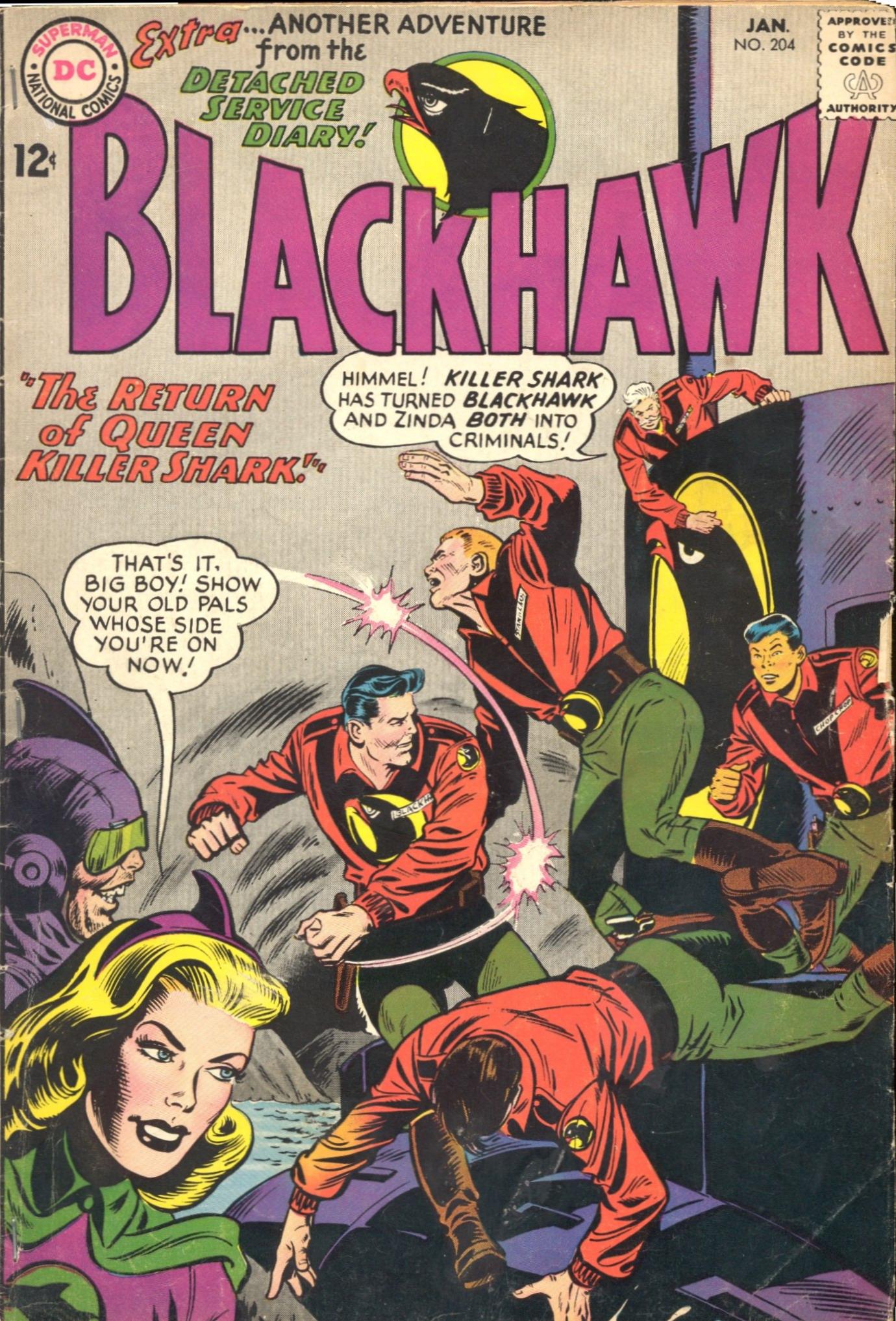 Blackhawk (1957) 204 Page 1