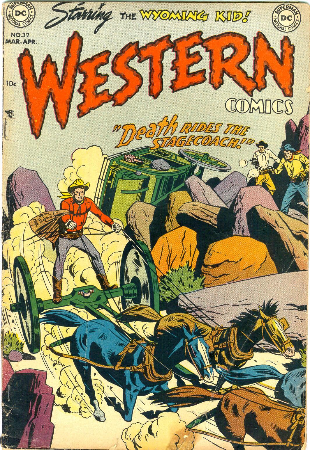 Western Comics 32 Page 1