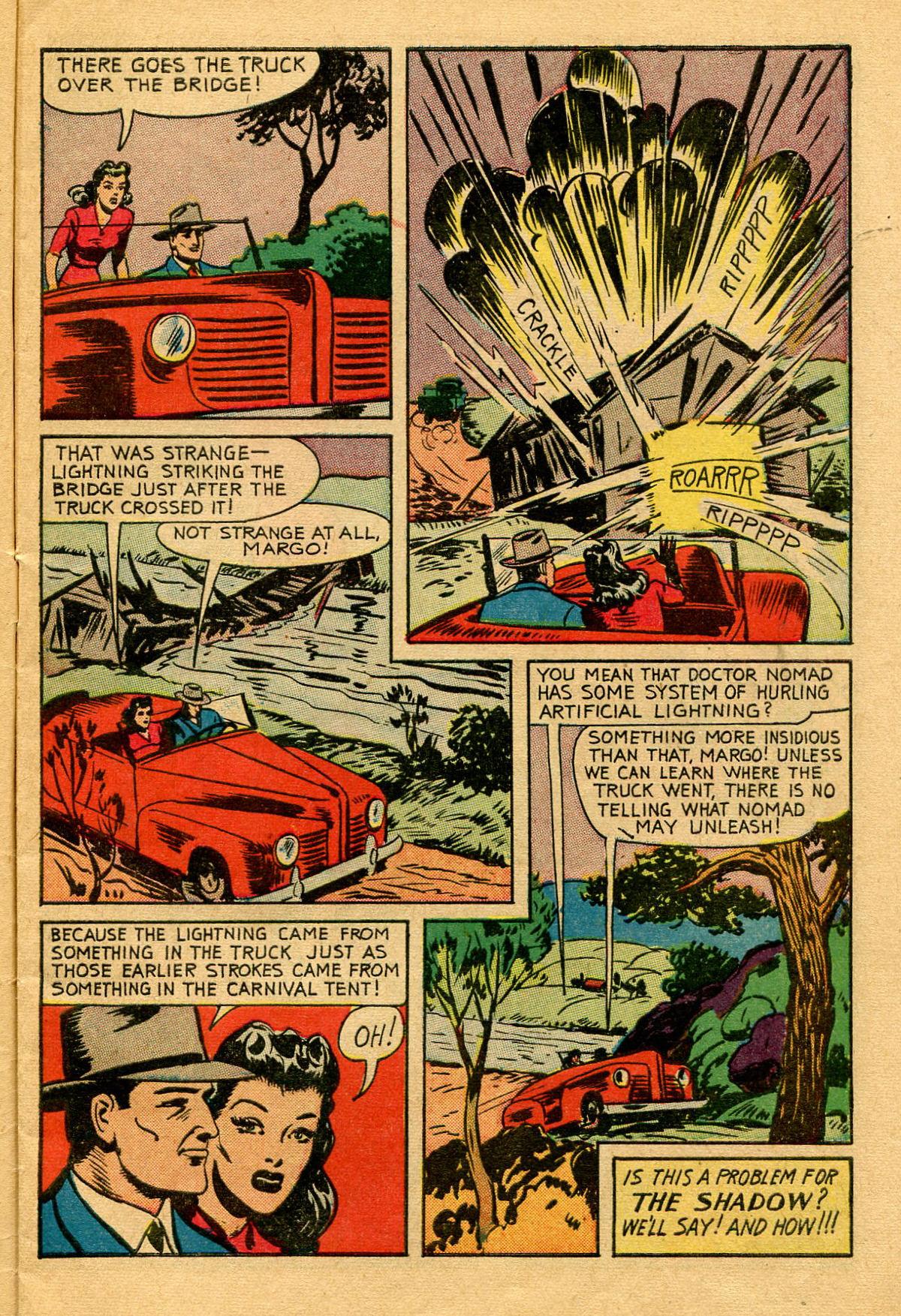 Read online Shadow Comics comic -  Issue #53 - 8