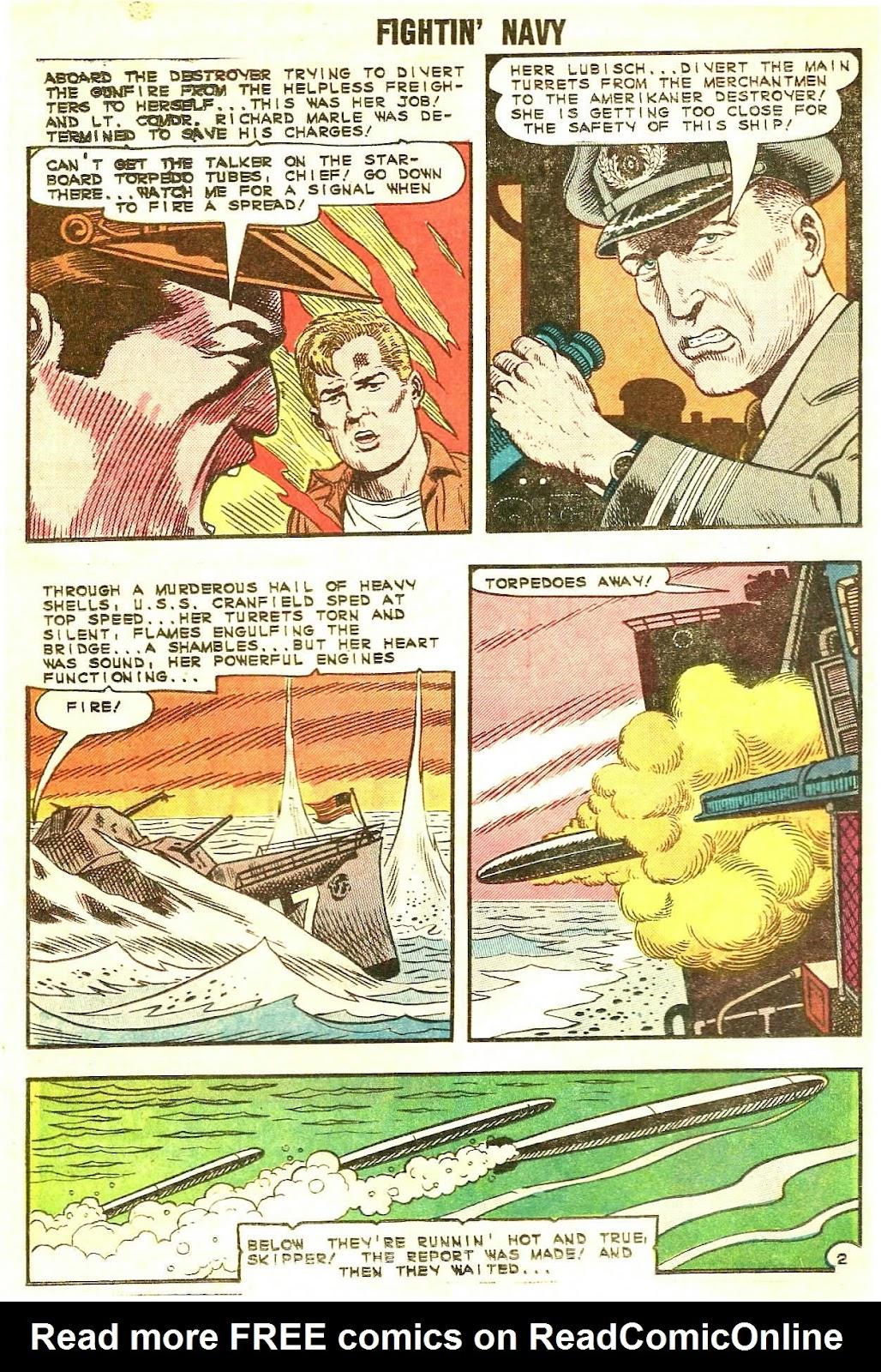 Read online Fightin' Navy comic -  Issue #120 - 16