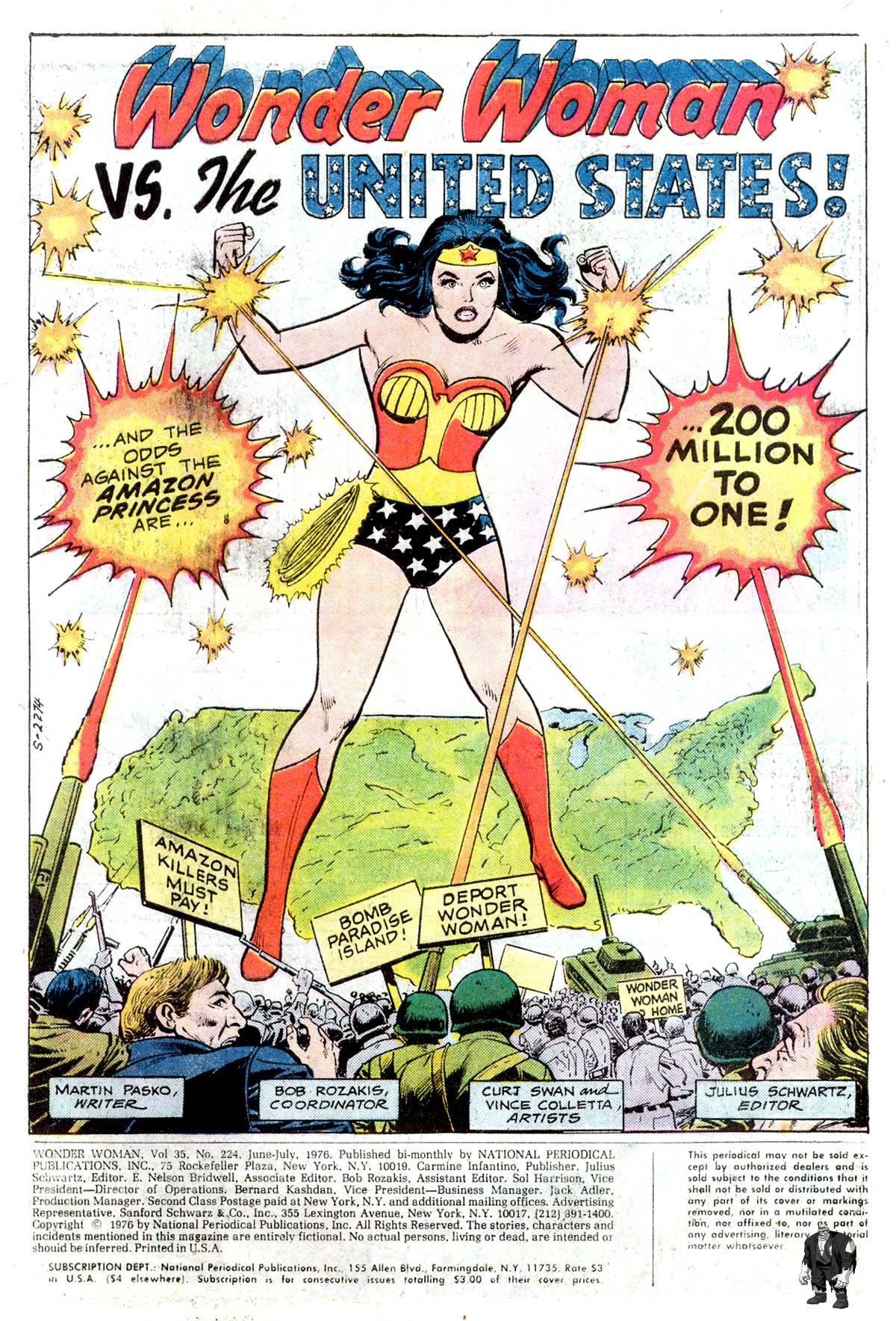 Read online Wonder Woman (1942) comic -  Issue #224 - 3