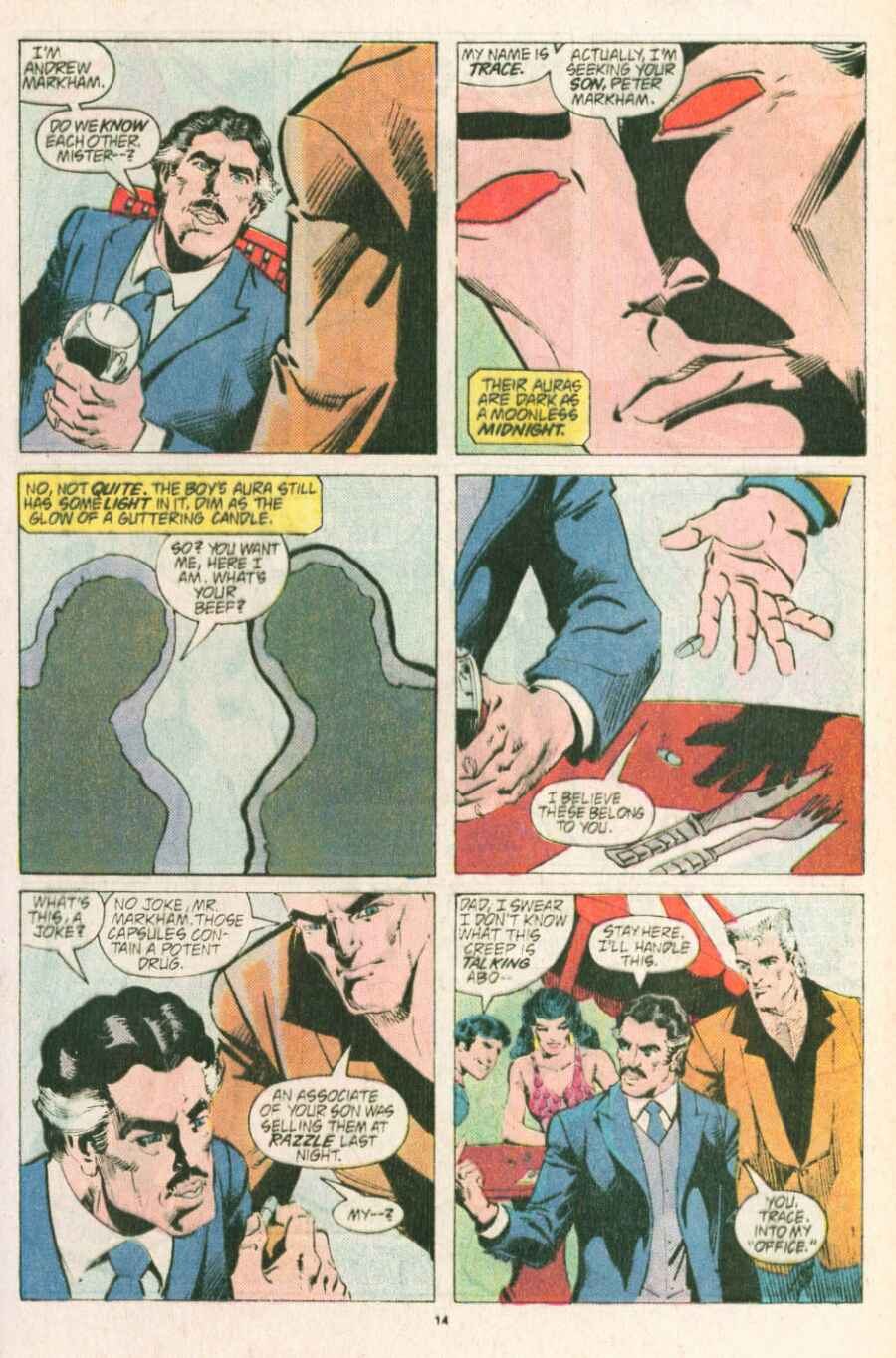 Read online Justice (1986) comic -  Issue #13 - 15