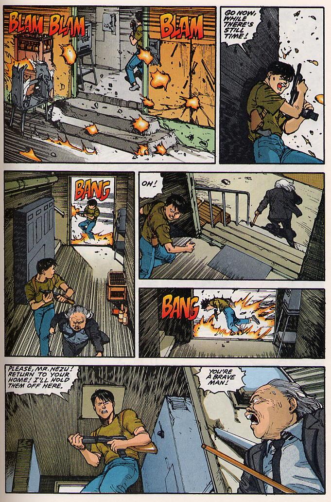 Read online Akira comic -  Issue #15 - 38
