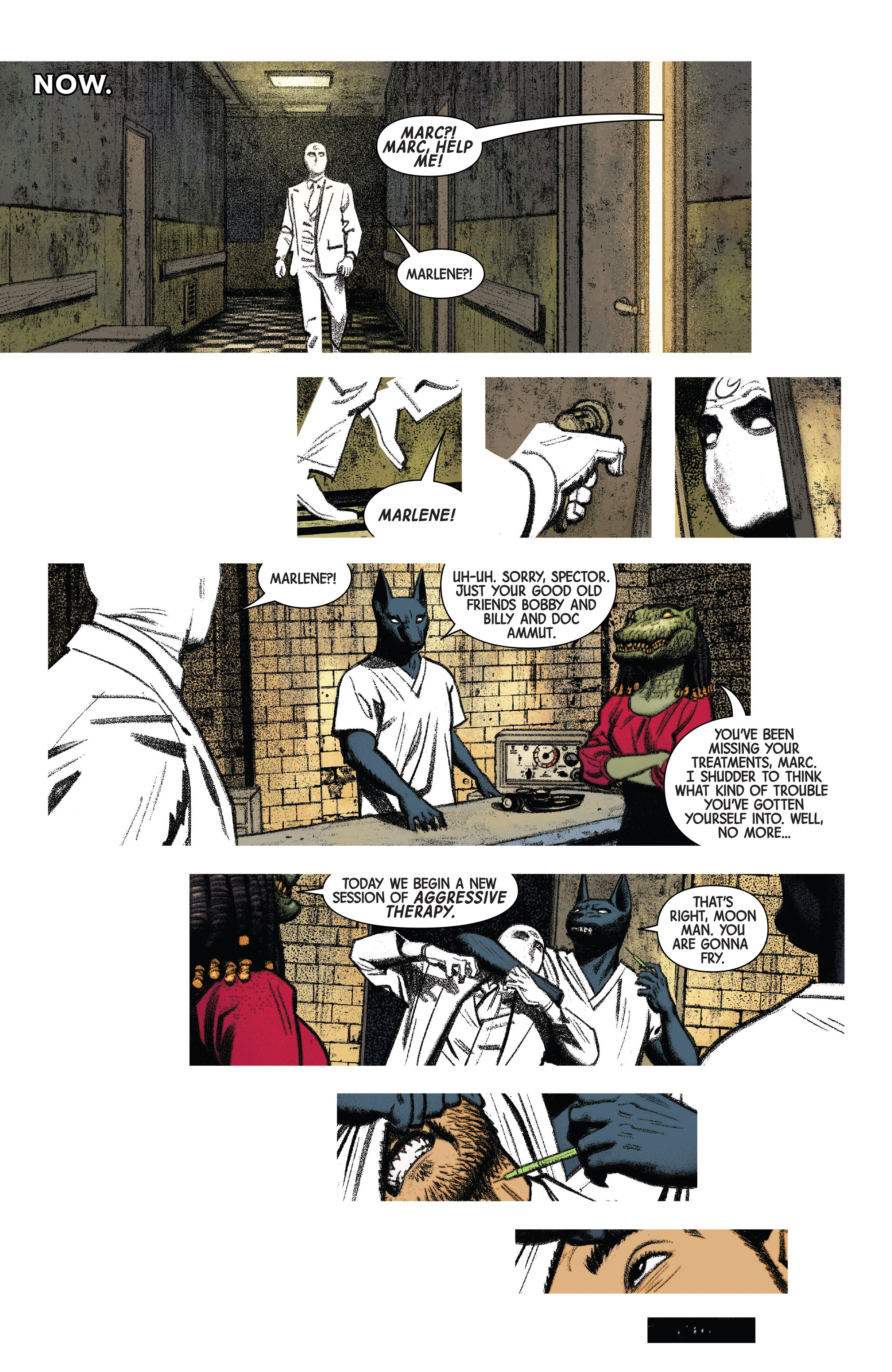 Read online Moon Knight (2016) comic -  Issue #14 - 7
