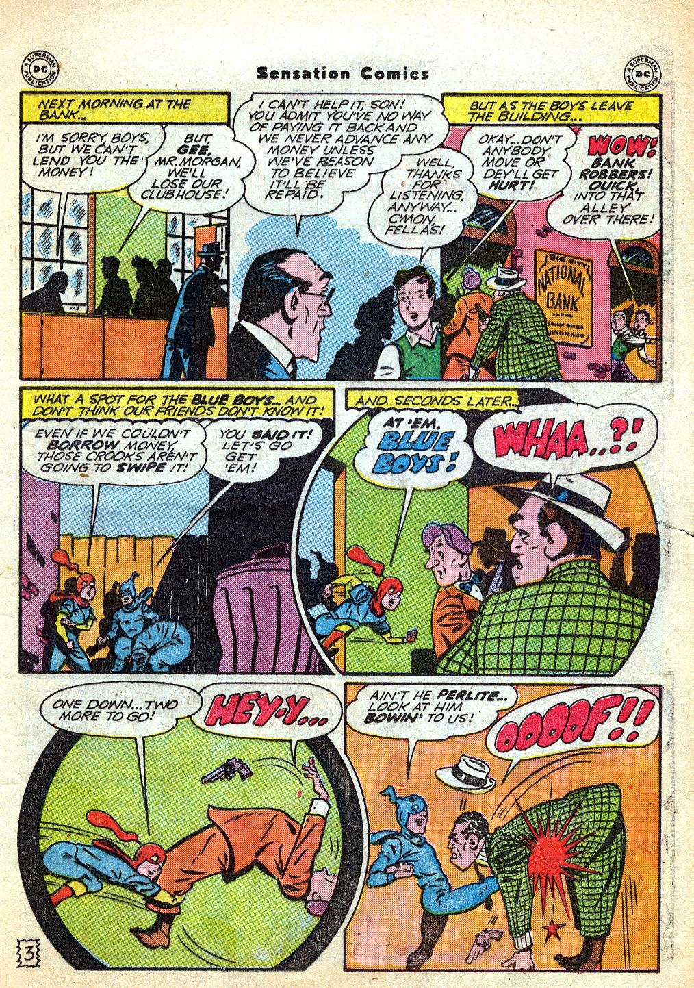 Read online Sensation (Mystery) Comics comic -  Issue #60 - 19