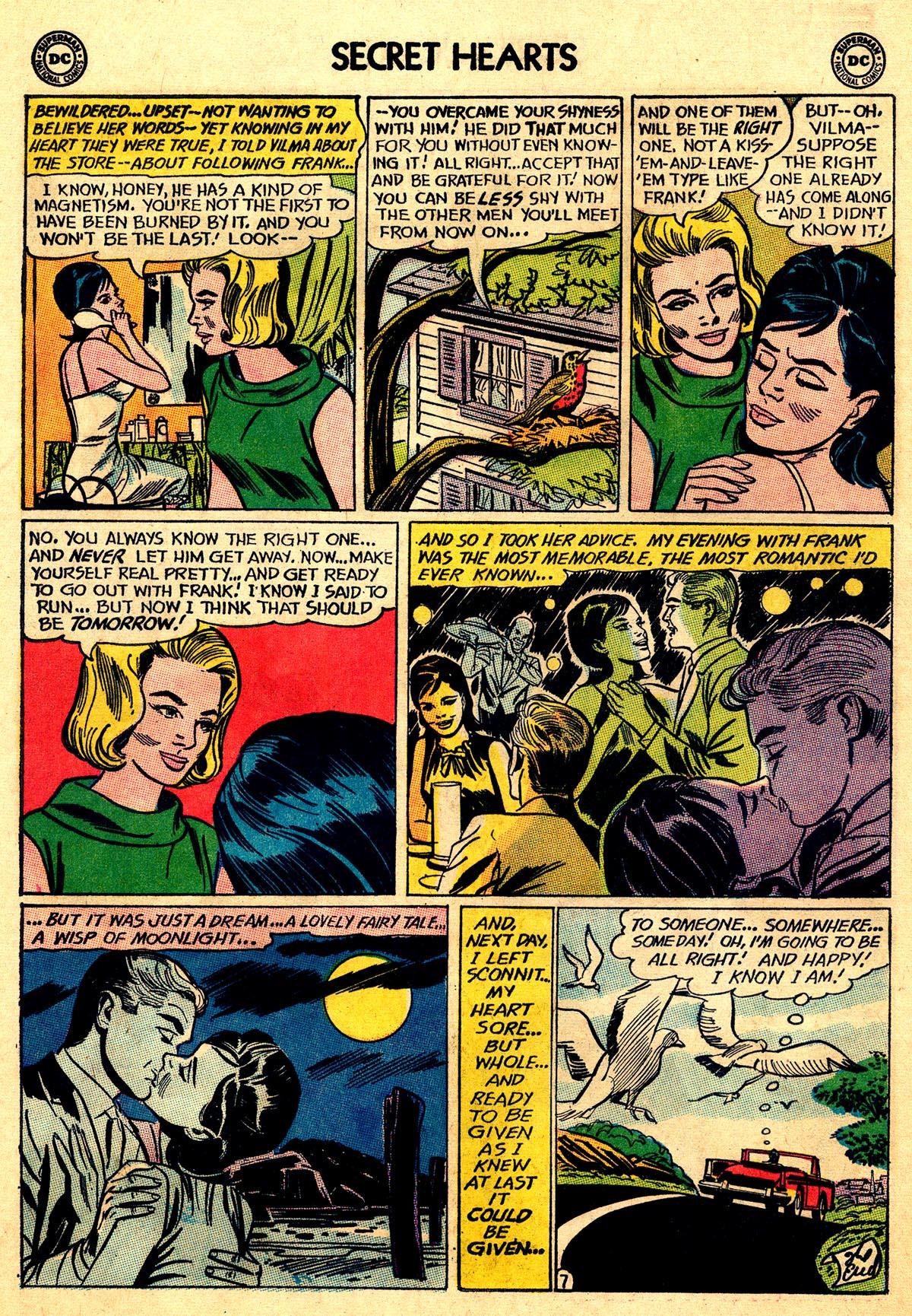 Read online Secret Hearts comic -  Issue #93 - 24