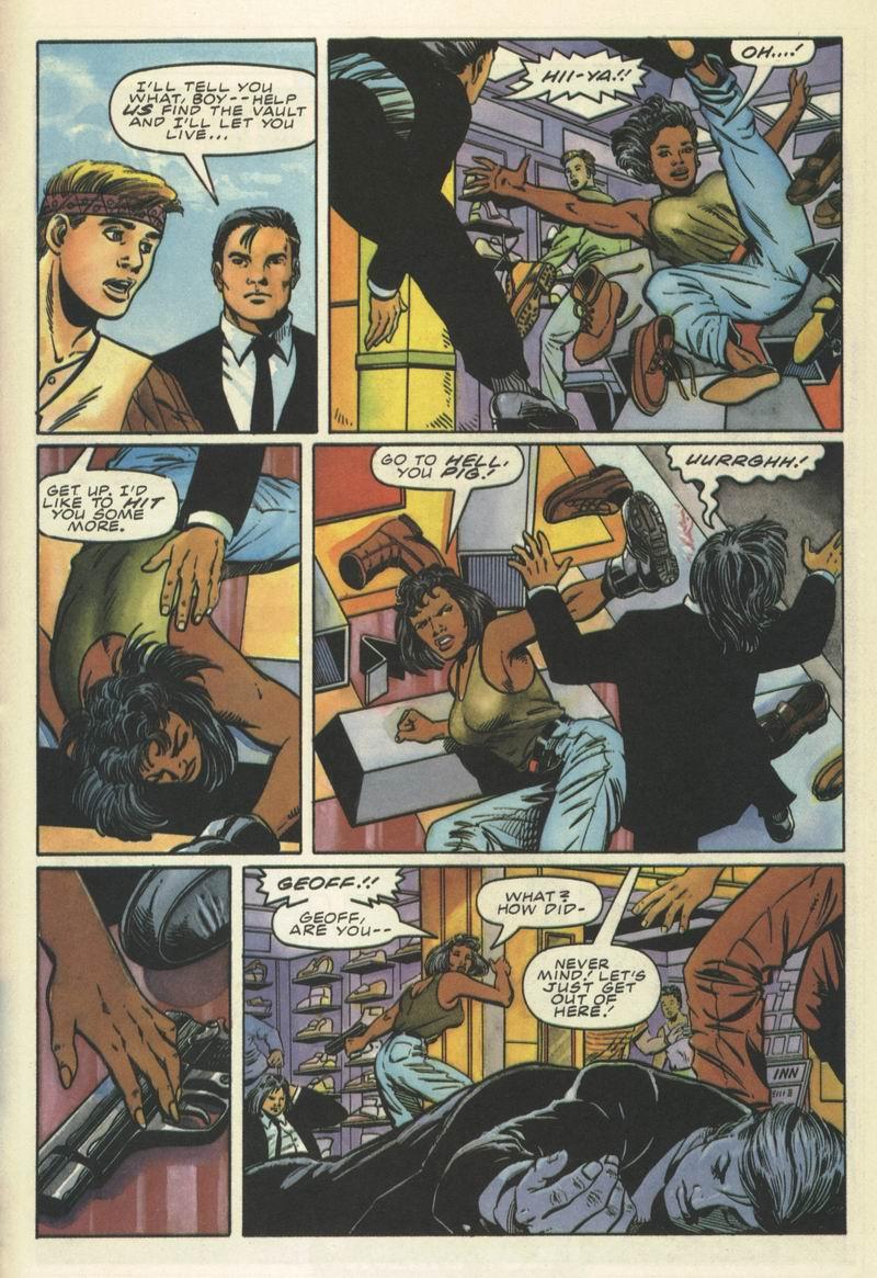 Read online Secret Weapons comic -  Issue #9 - 18