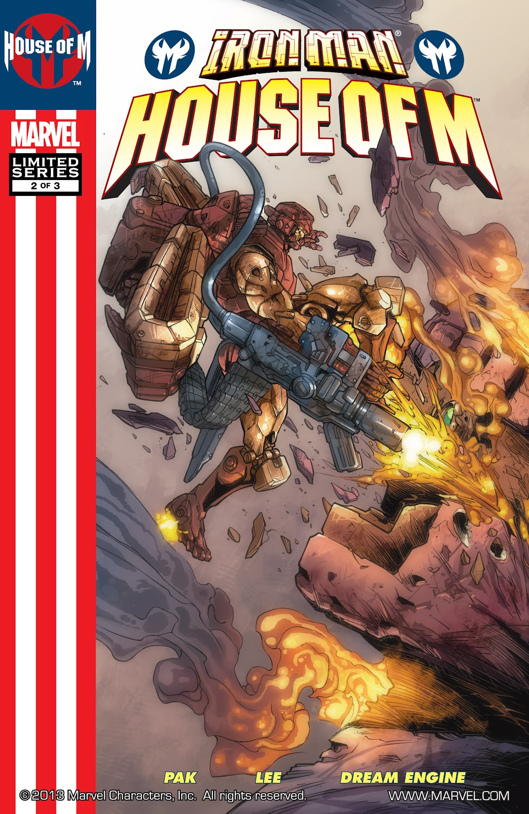 Iron Man: House of M Issue #2 #2 - English 1