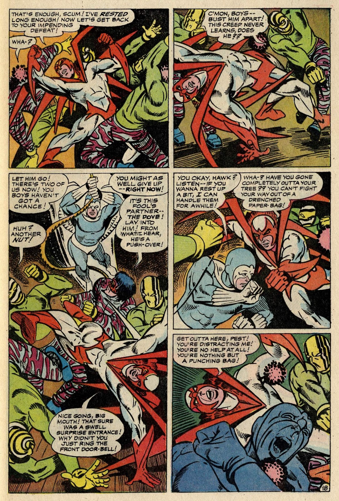 The Hawk and the Dove issue 1 - Page 24