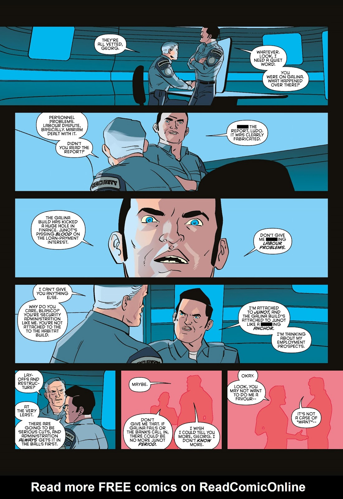 Read online Brink comic -  Issue # TPB 3 - 17