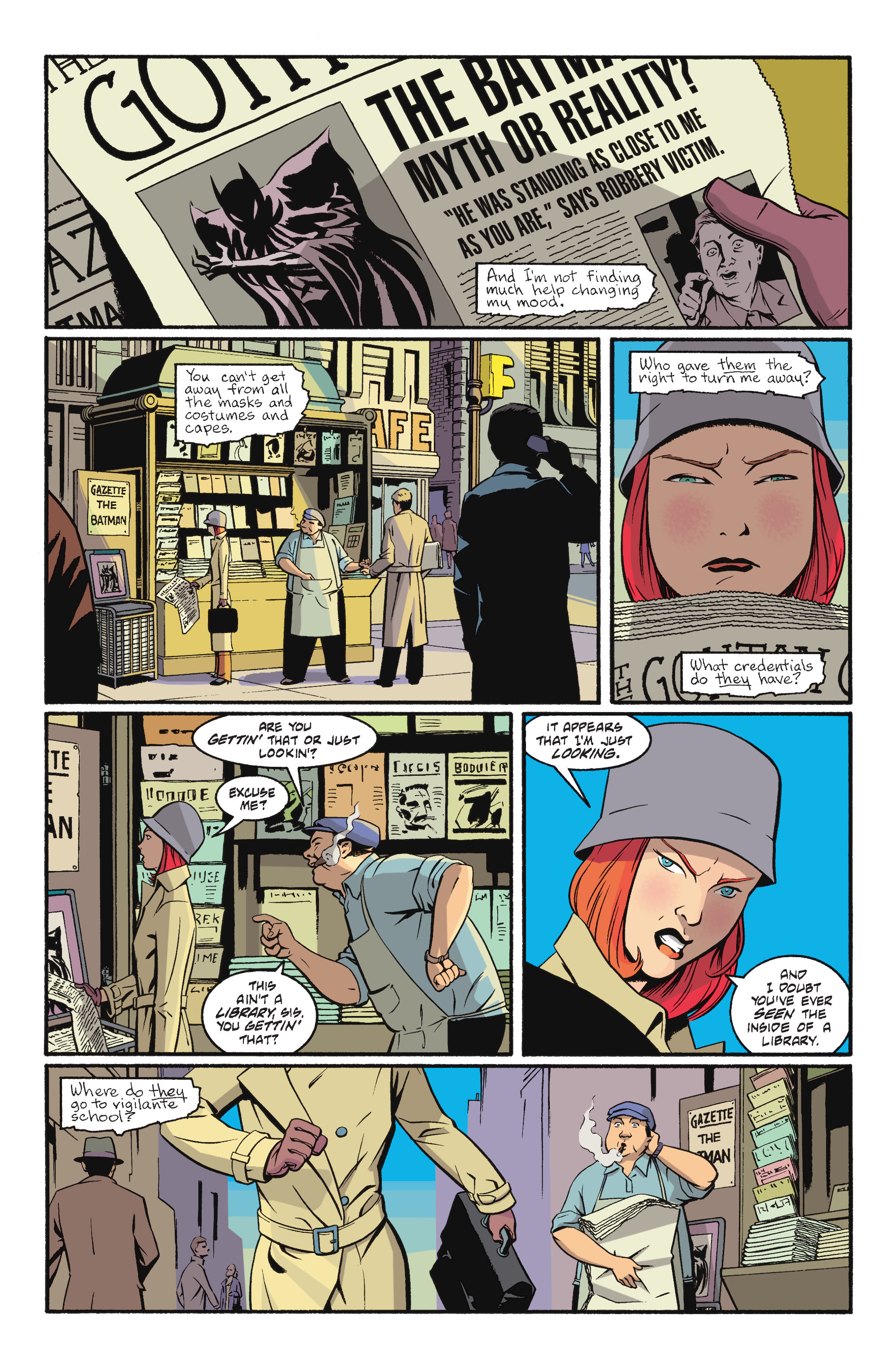 Read online Batgirl/Robin: Year One comic -  Issue # TPB 2 - 22