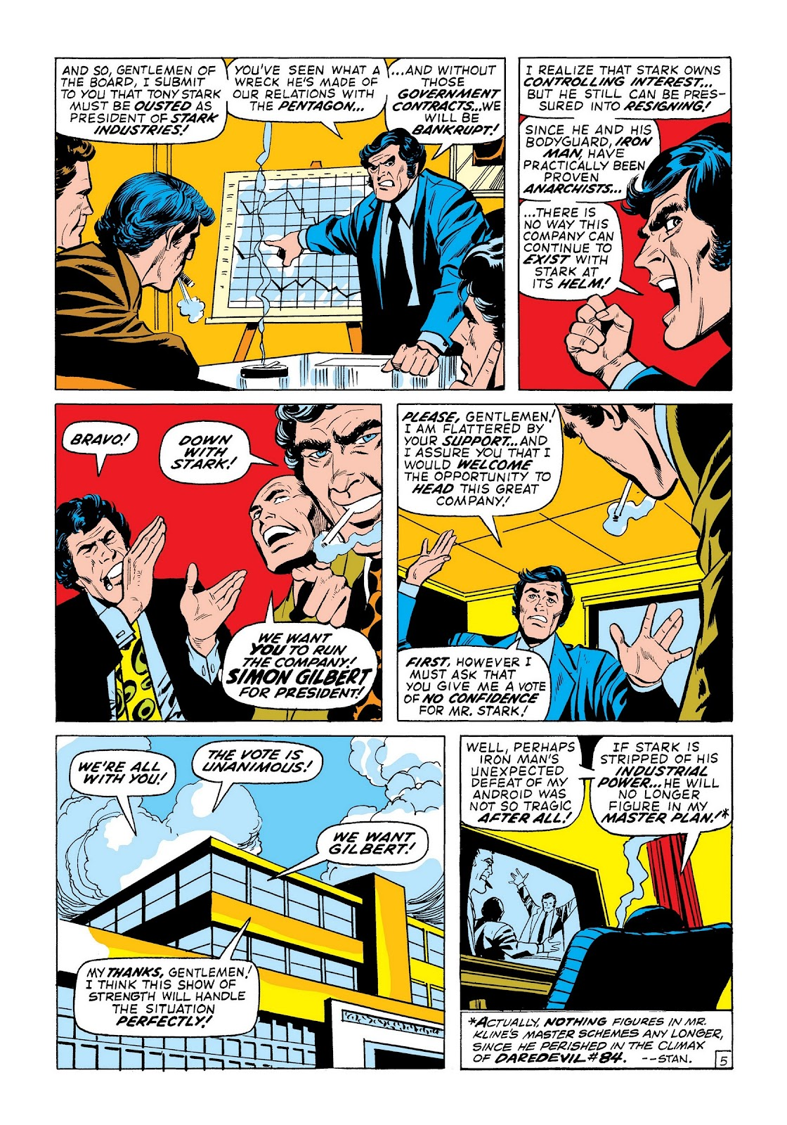 Read online Marvel Masterworks: The Invincible Iron Man comic -  Issue # TPB 8 (Part 2) - 27
