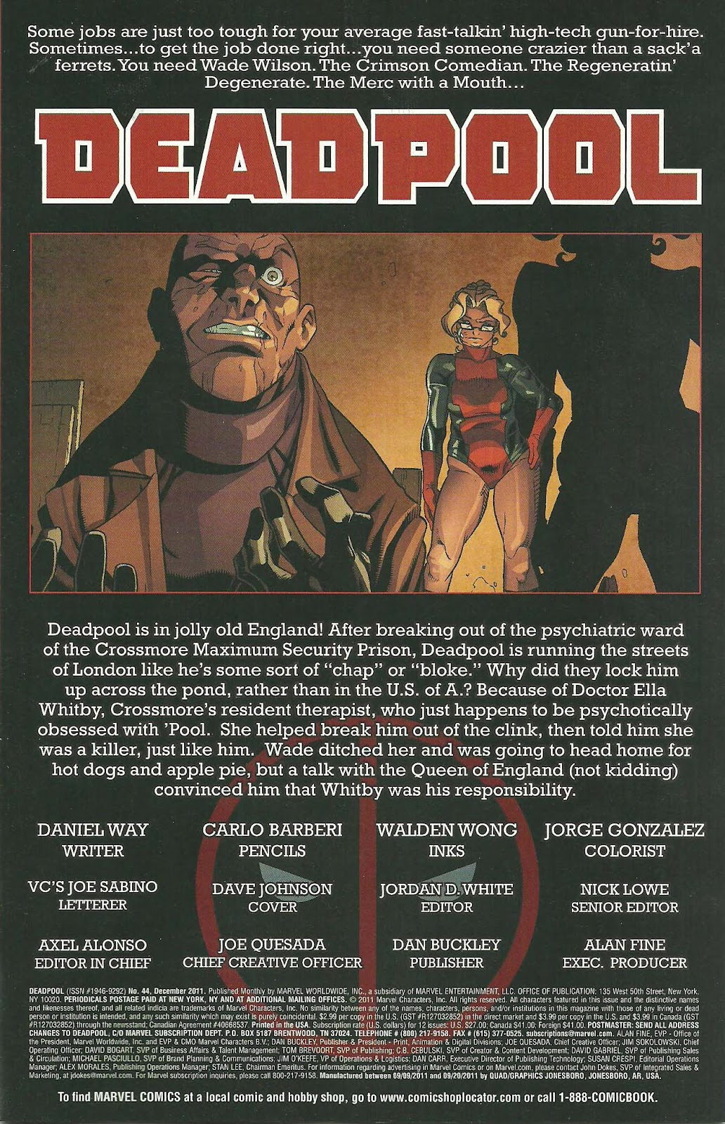 Read online Deadpool (2008) comic -  Issue #44 - 2