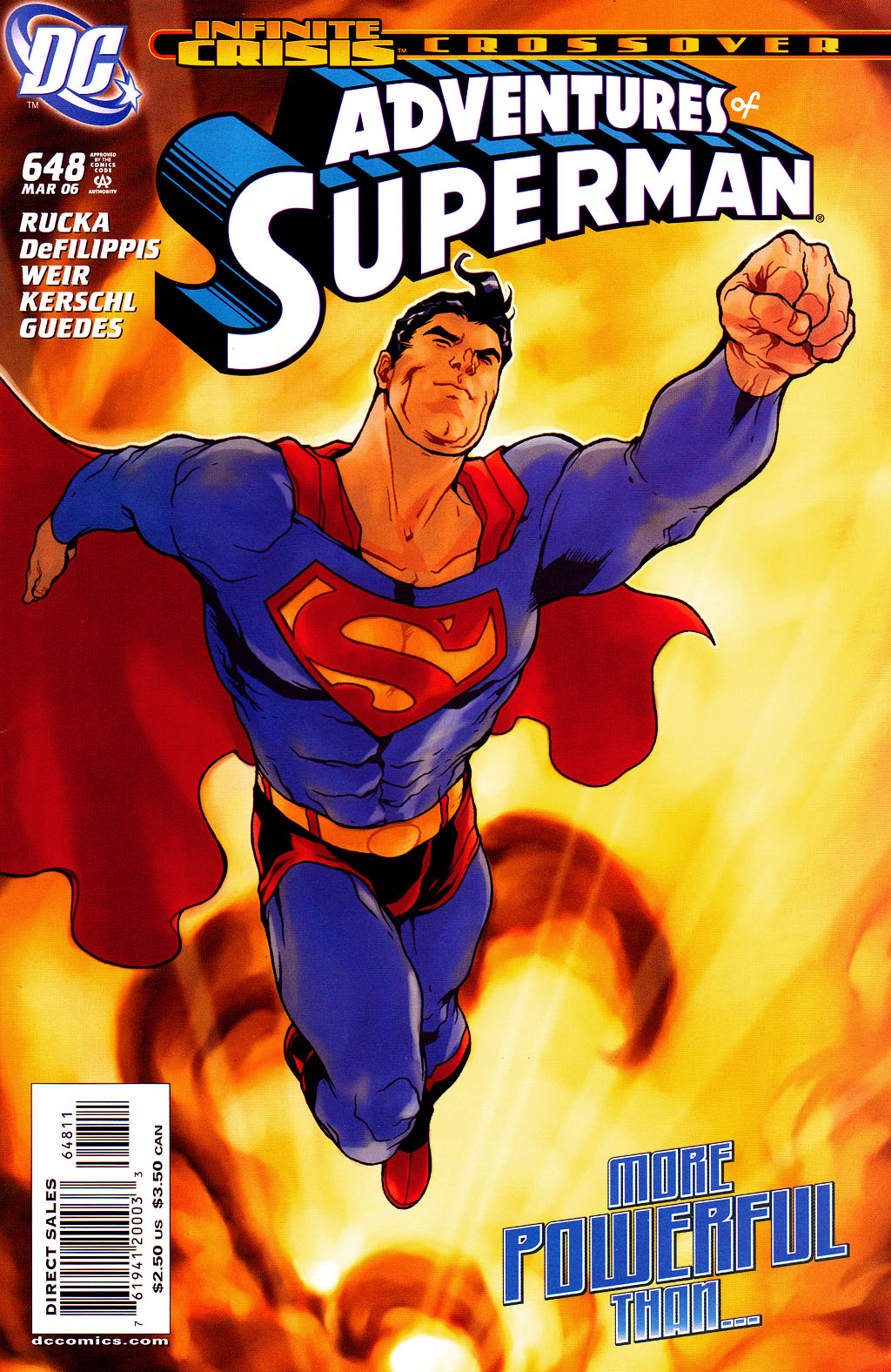 Read online Adventures of Superman (1987) comic -  Issue #648 - 1