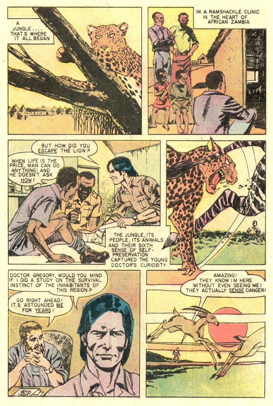 Read online Tiger-Man comic -  Issue #1 - 5