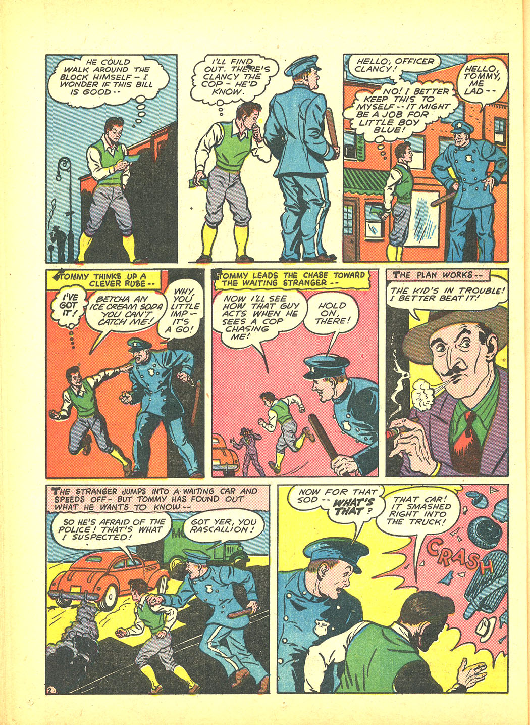 Read online Sensation (Mystery) Comics comic -  Issue #4 - 50