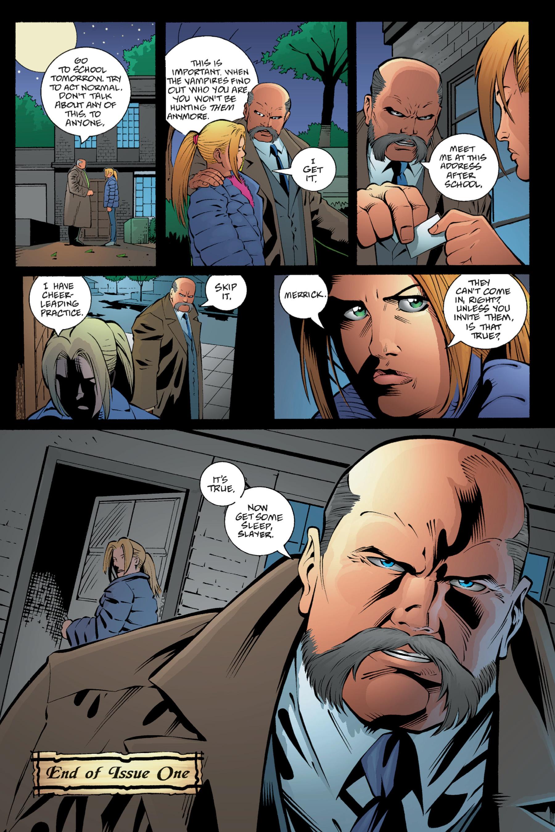 Read online Buffy the Vampire Slayer: Omnibus comic -  Issue # TPB 1 - 58