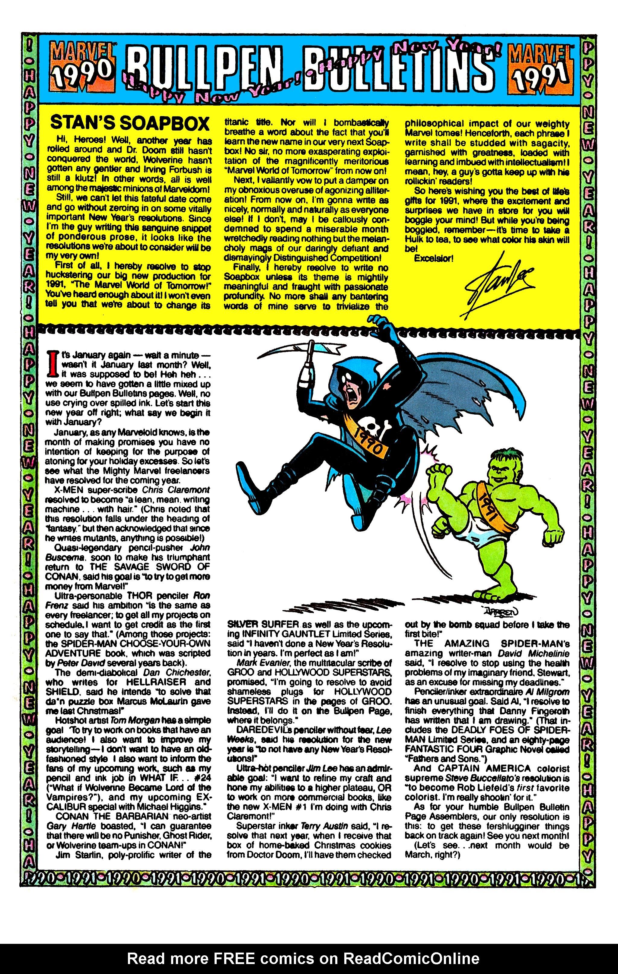 Read online Uncanny X-Men (1963) comic -  Issue #274 - 20