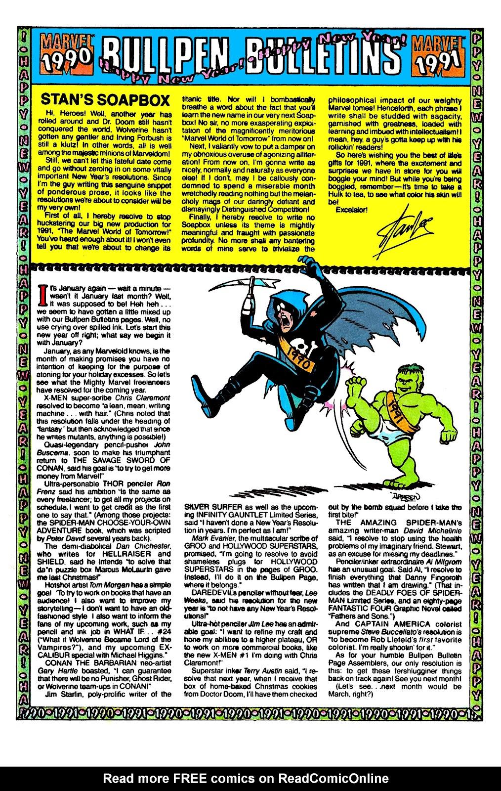 Uncanny X-Men (1963) issue 274 - Page 20