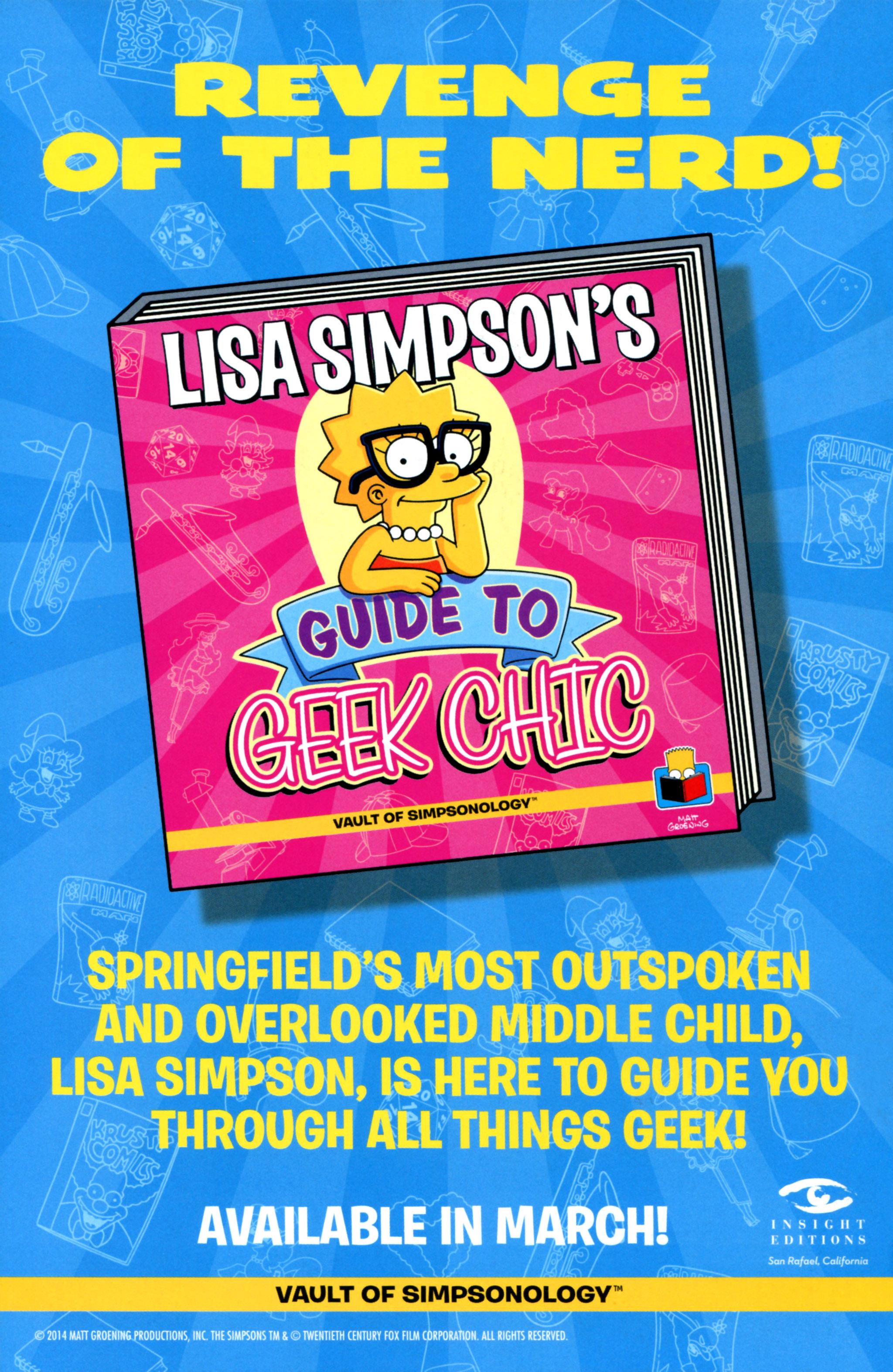 Read online Simpsons Comics comic -  Issue #218 - 31