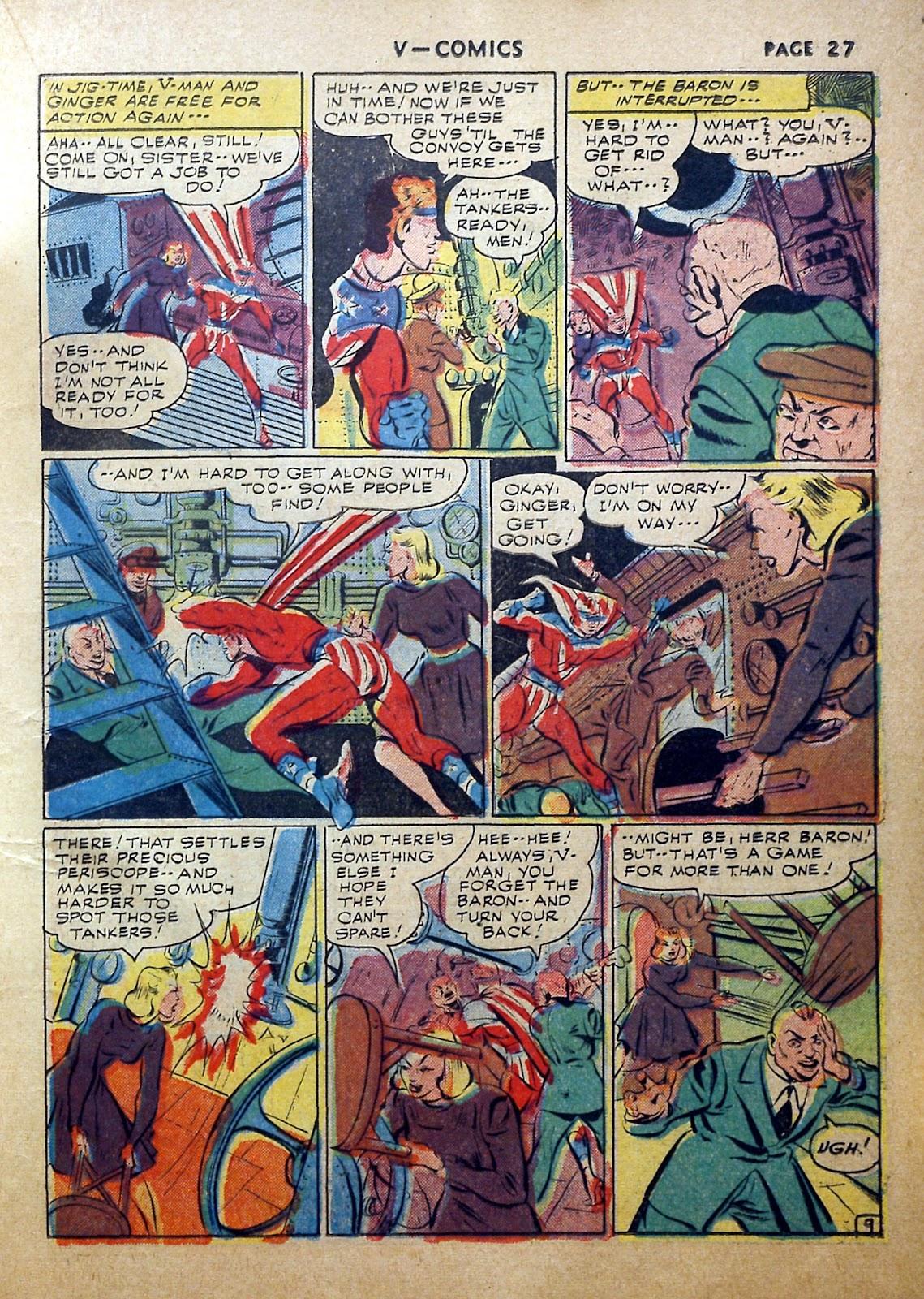 Read online V...- Comics comic -  Issue #2 - 28