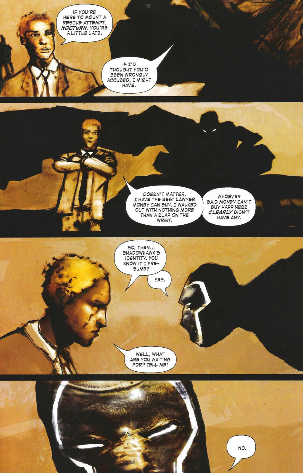 Read online ShadowHawk (2005) comic -  Issue #7 - 13