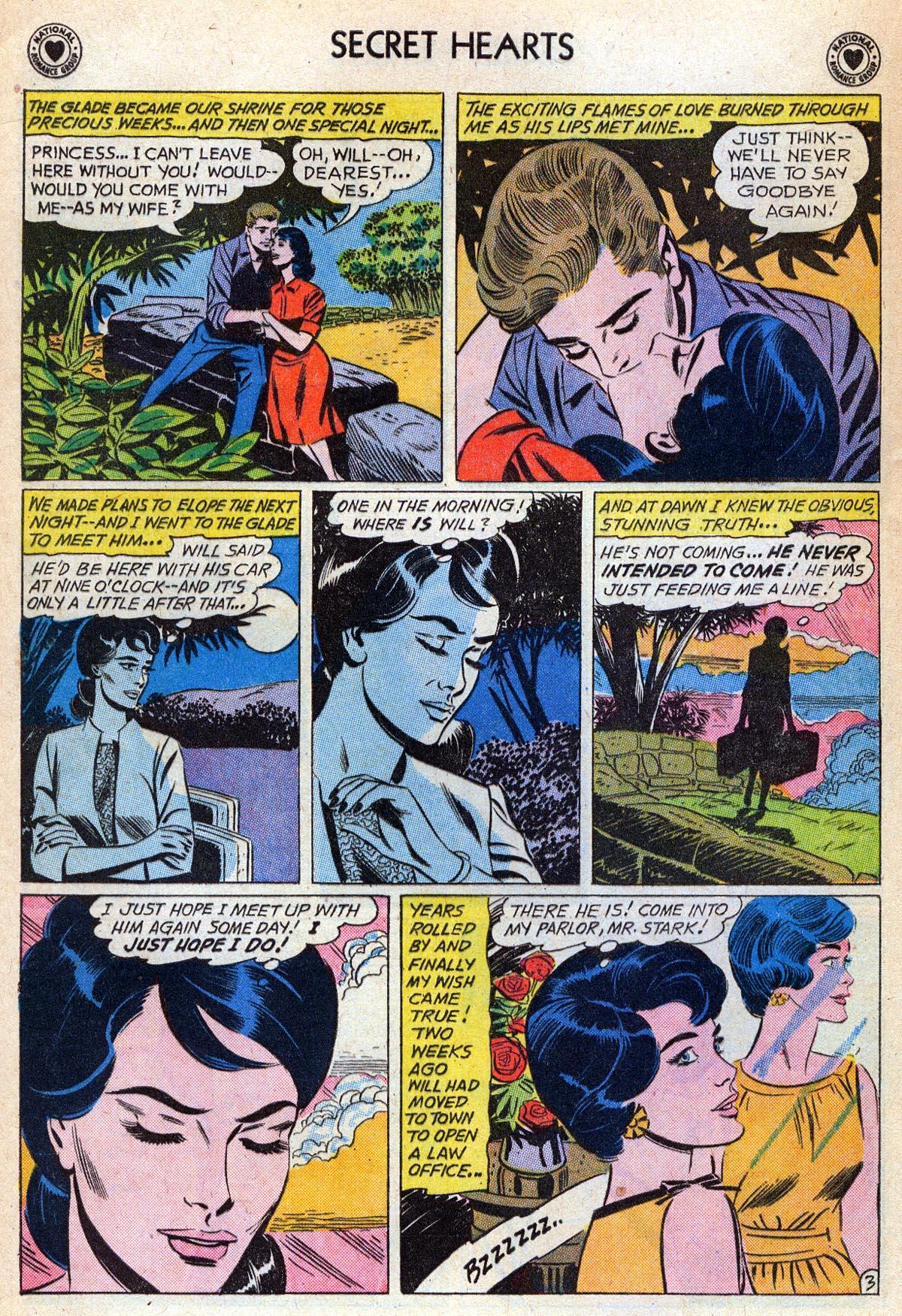 Read online Secret Hearts comic -  Issue #76 - 20