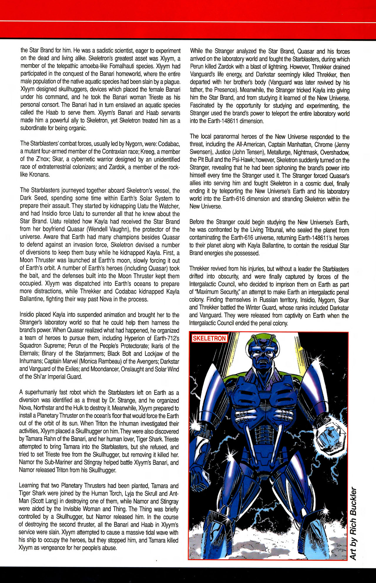 Read online All-New Official Handbook of the Marvel Universe A to Z comic -  Issue #10 - 55