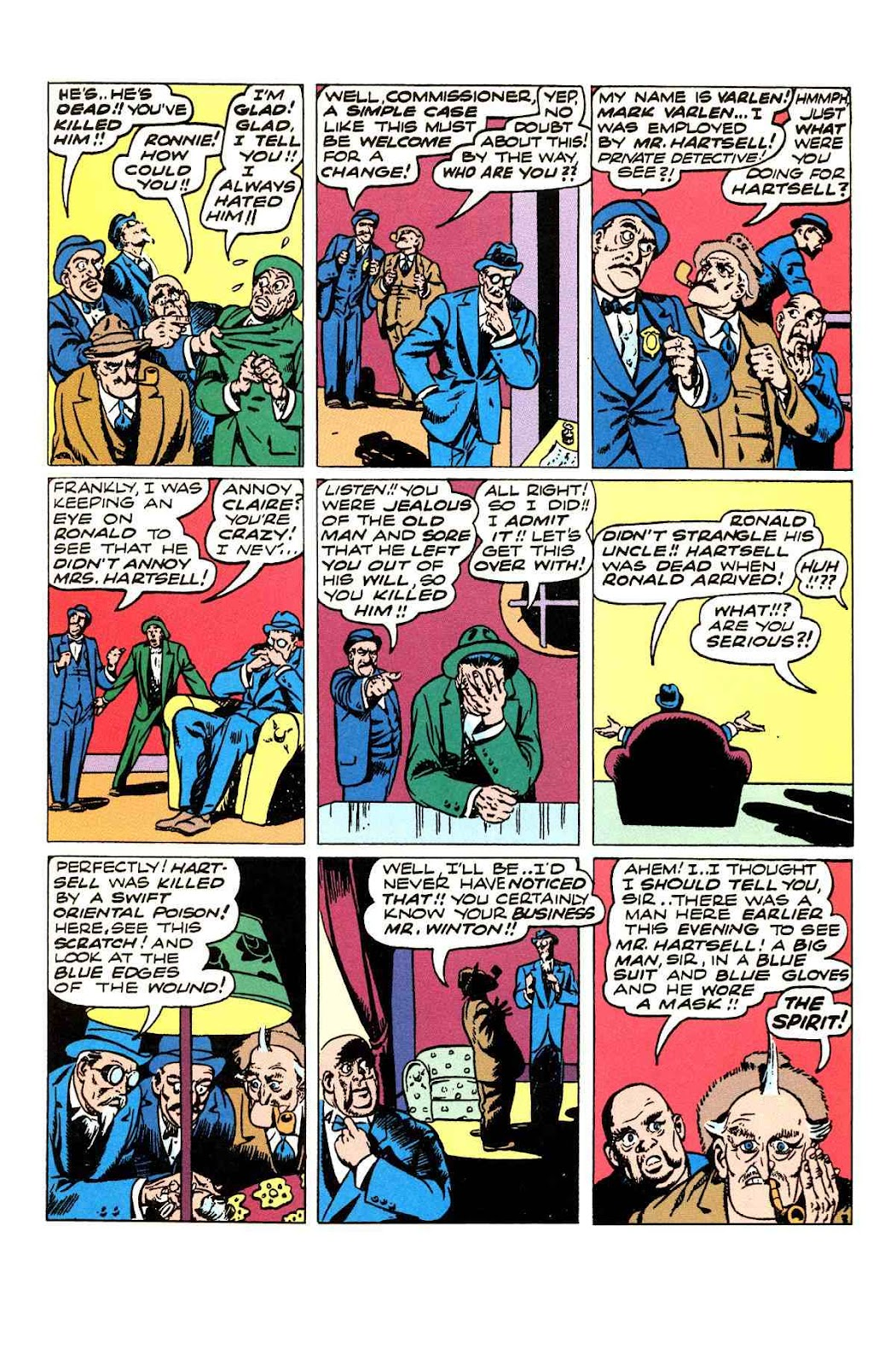 Read online Will Eisner's The Spirit Archives comic -  Issue # TPB 3 (Part 1) - 68