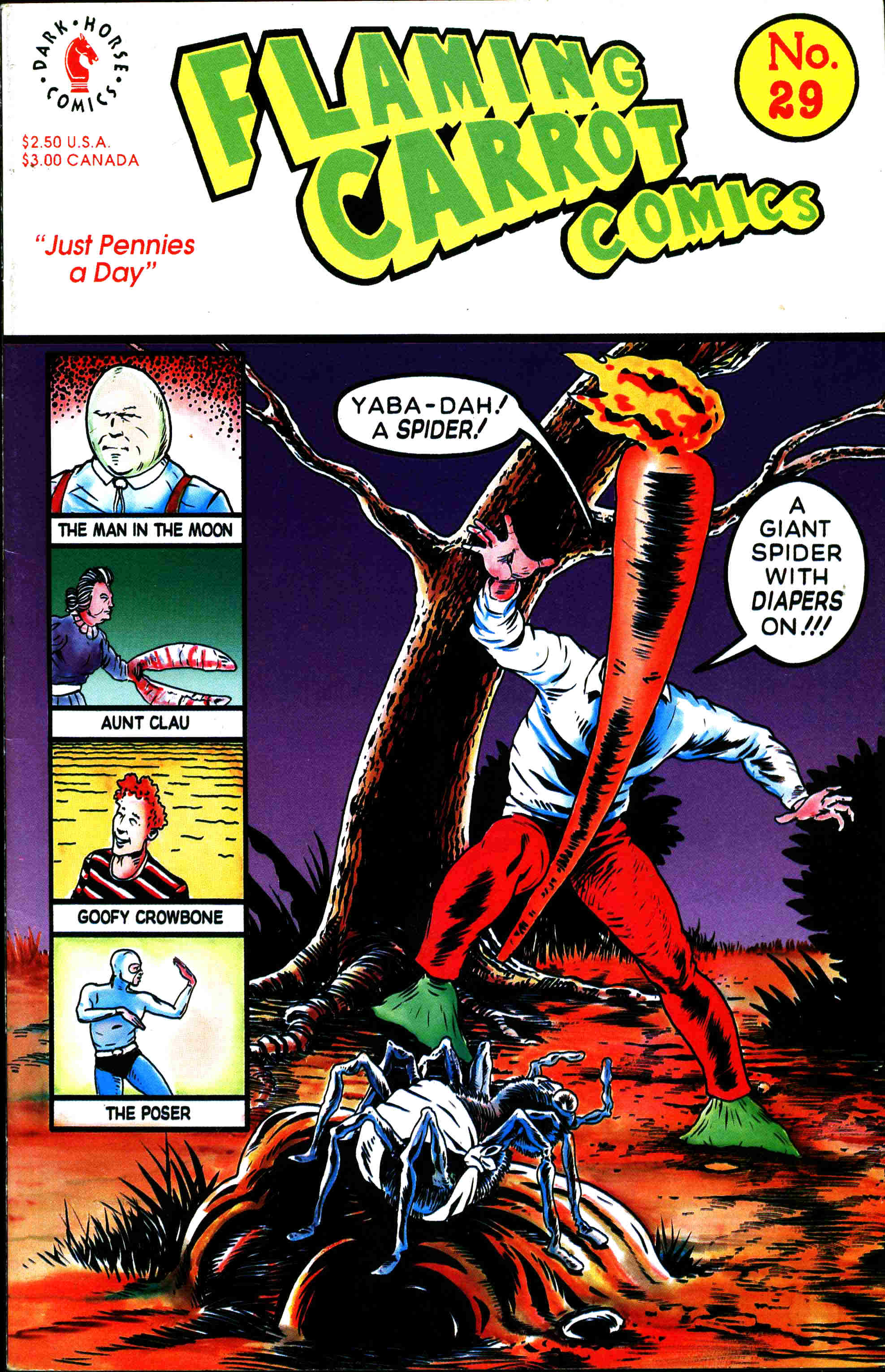 Read online Flaming Carrot Comics (1988) comic -  Issue #29 - 1