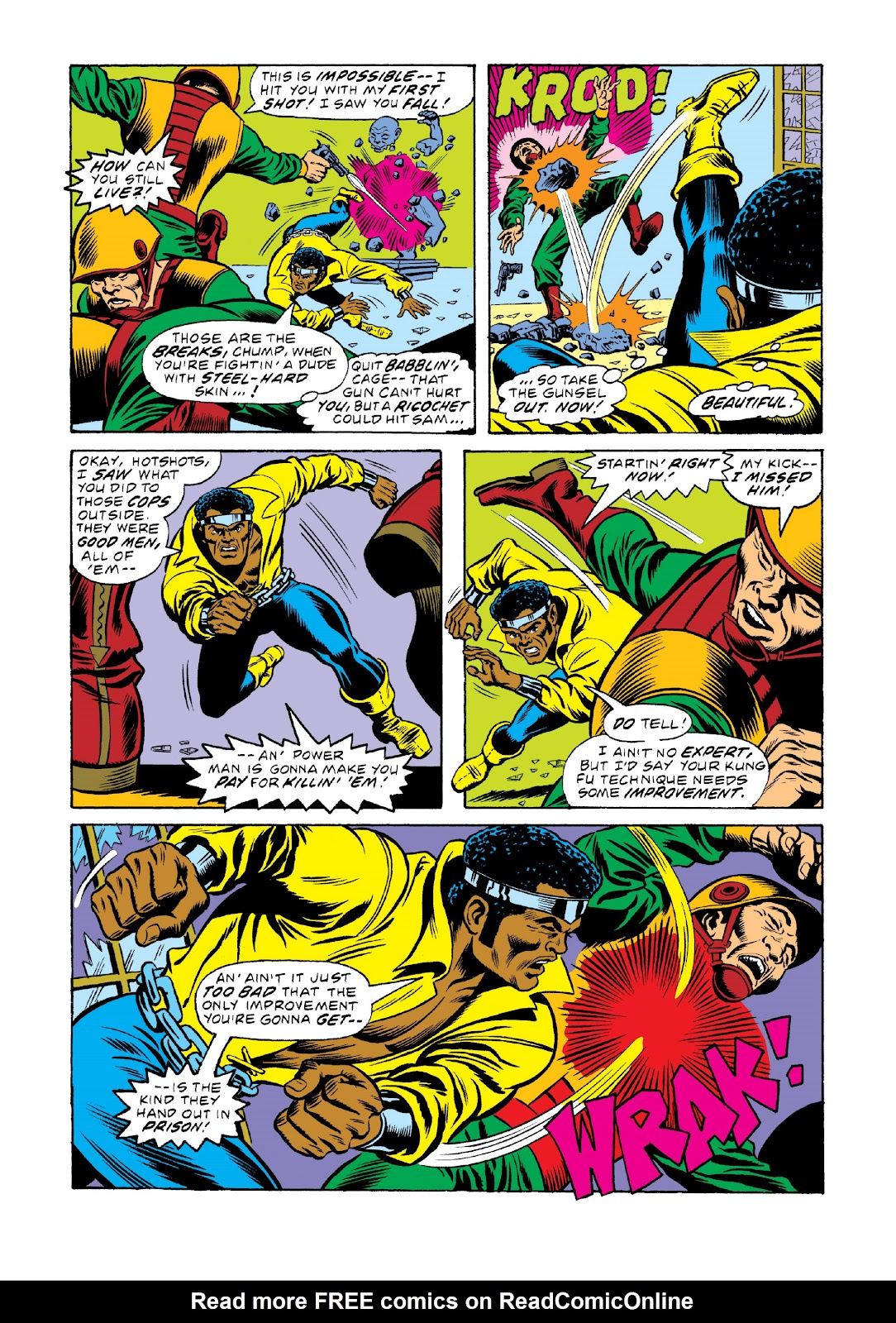 Read online Marvel Masterworks: Luke Cage, Power Man comic -  Issue # TPB 3 (Part 1) - 87