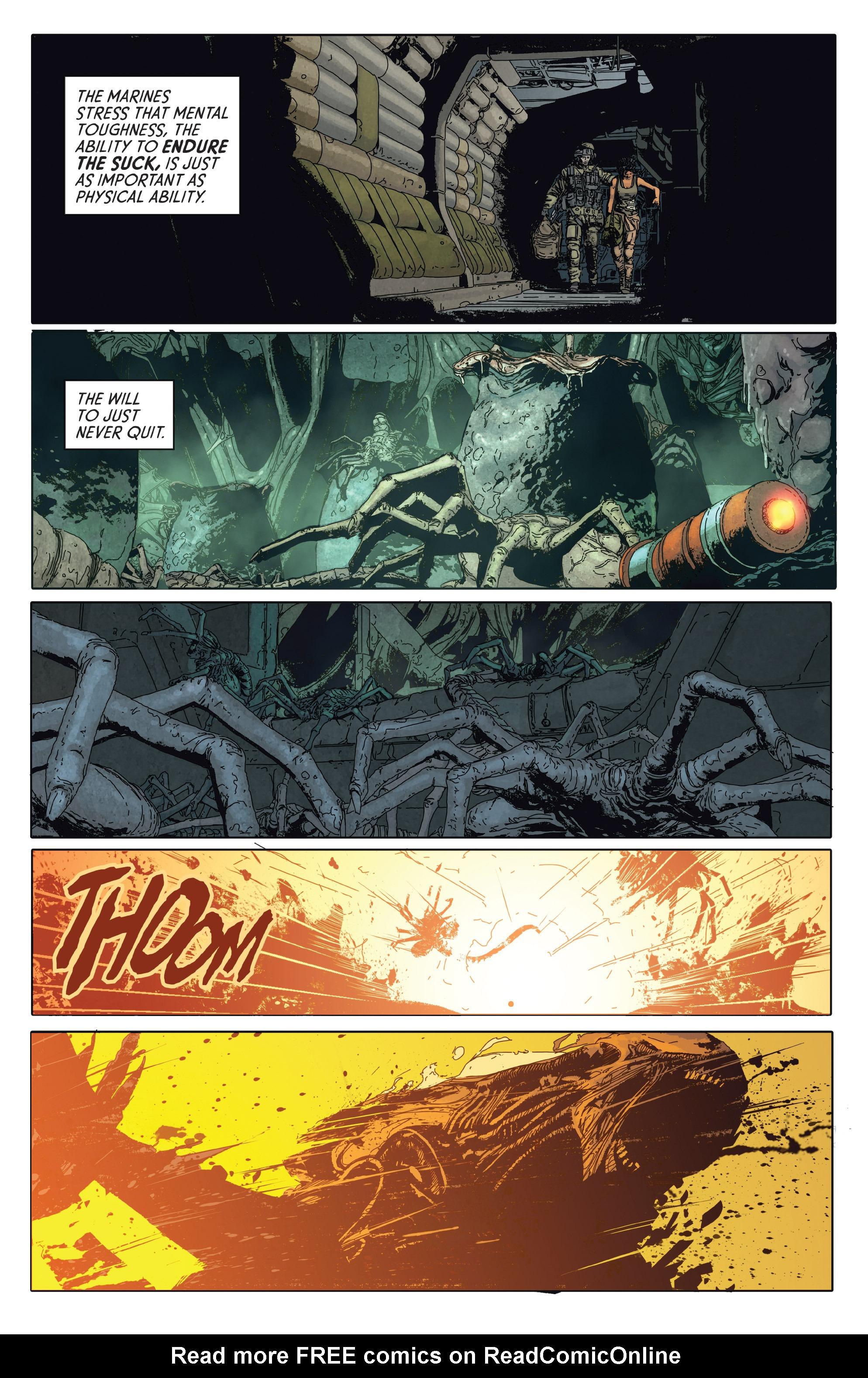Read online Aliens: Defiance comic -  Issue #2 - 21