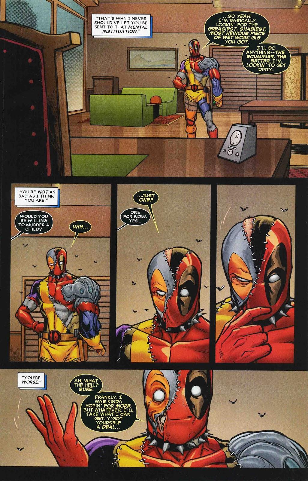 Read online Deadpool (2008) comic -  Issue #47 - 11